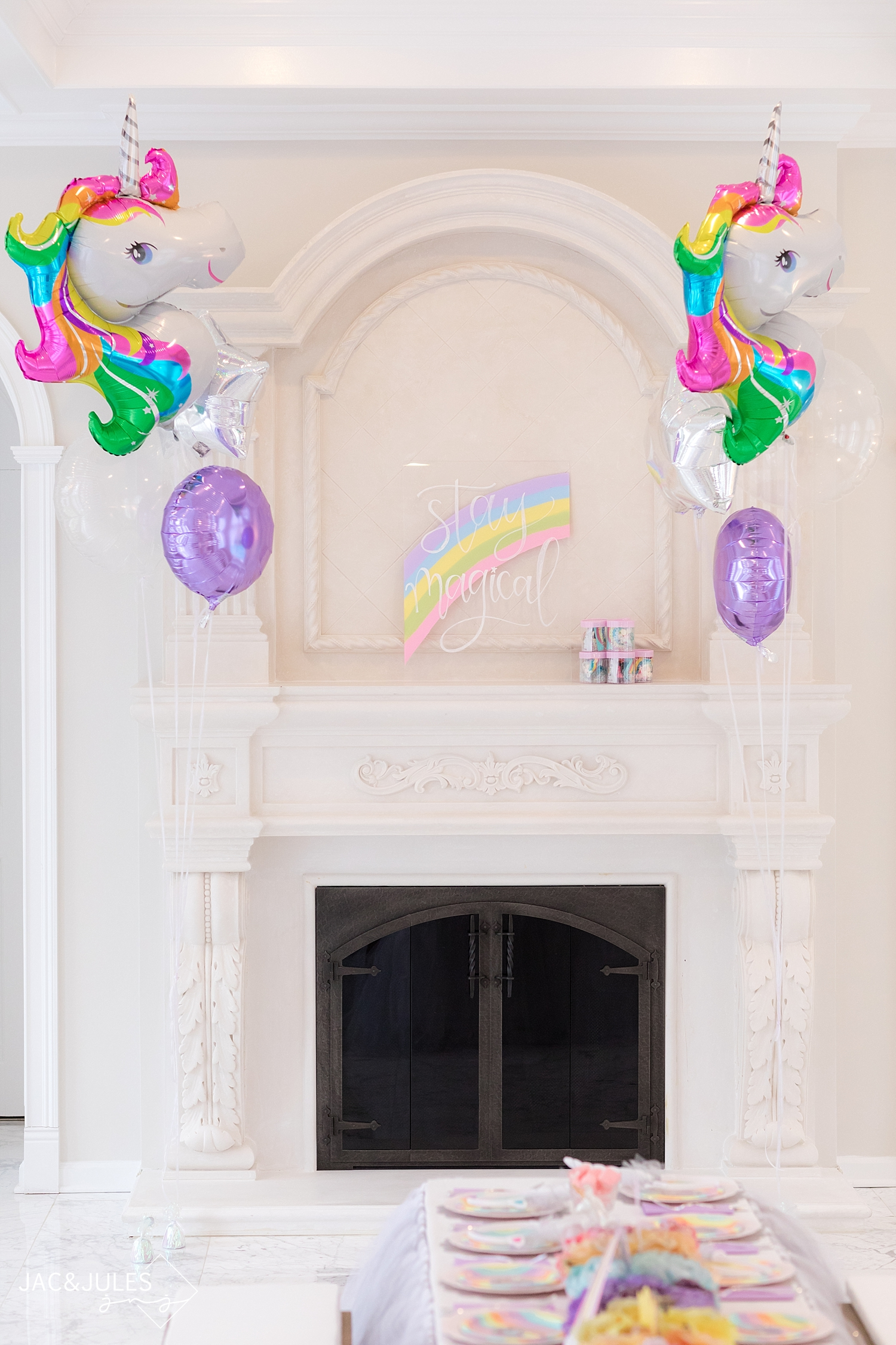 Unicorn and Pastel Rainbow Party - The Party Muse