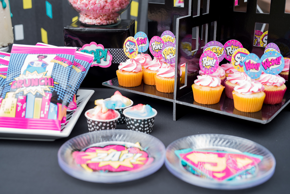 Superhero Jayla turns 8! - A Glam Good Time, LLC