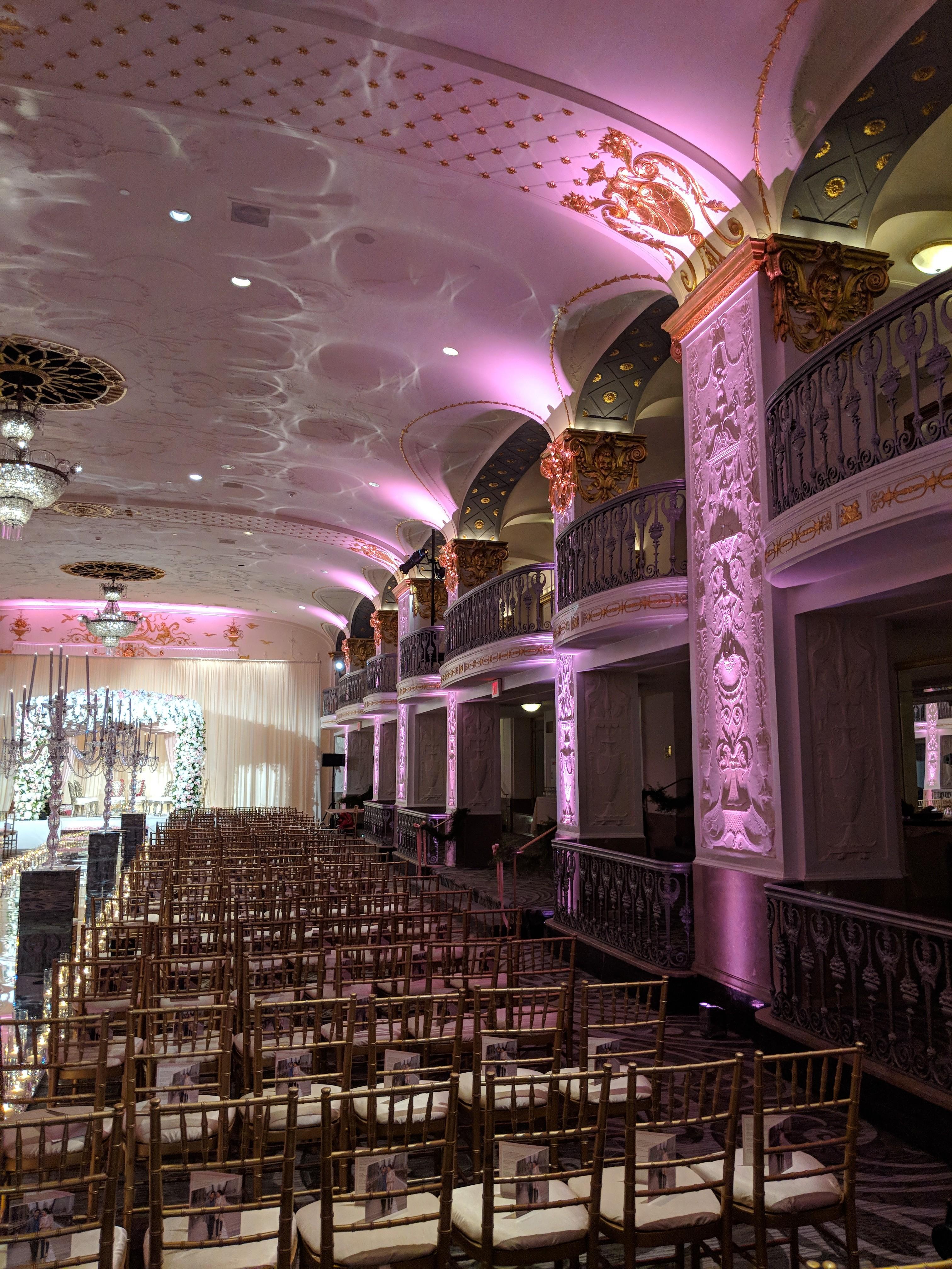 Glamorous Ballroom Wedding - Huqa: Live