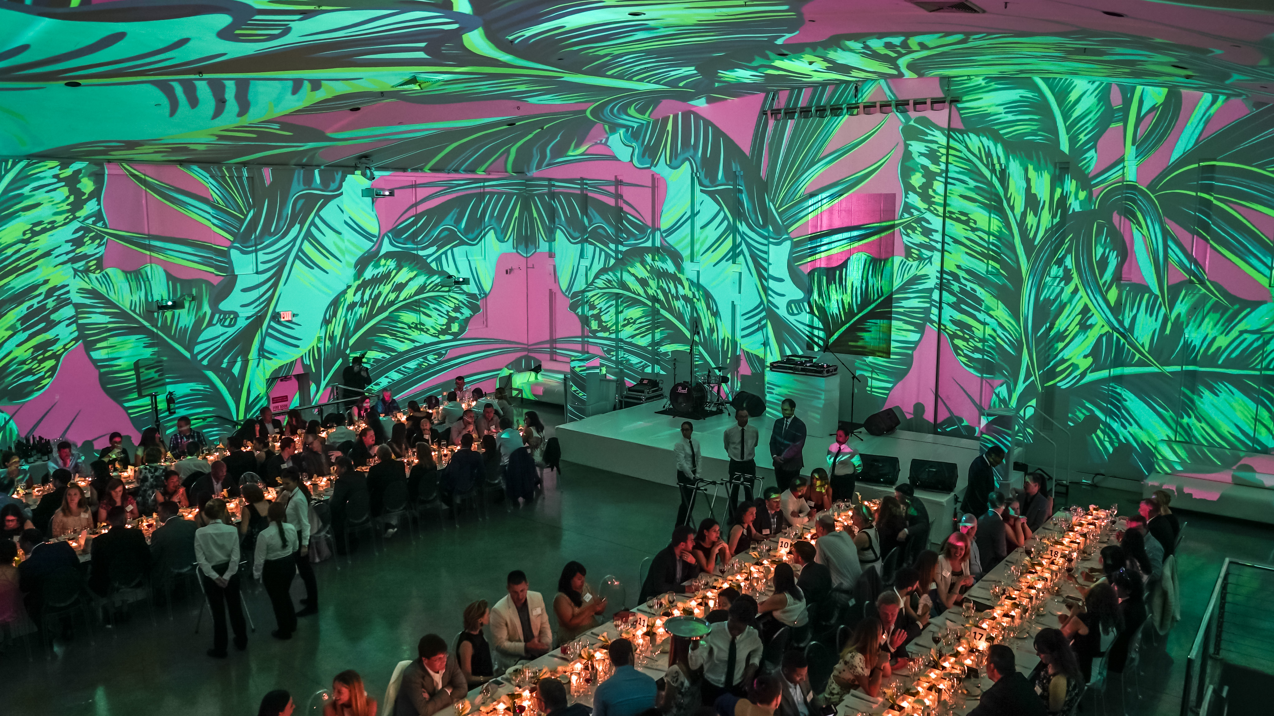 Tropical Deco Modern & Suave Corporate Gala - THE TEMPLE HOUSE