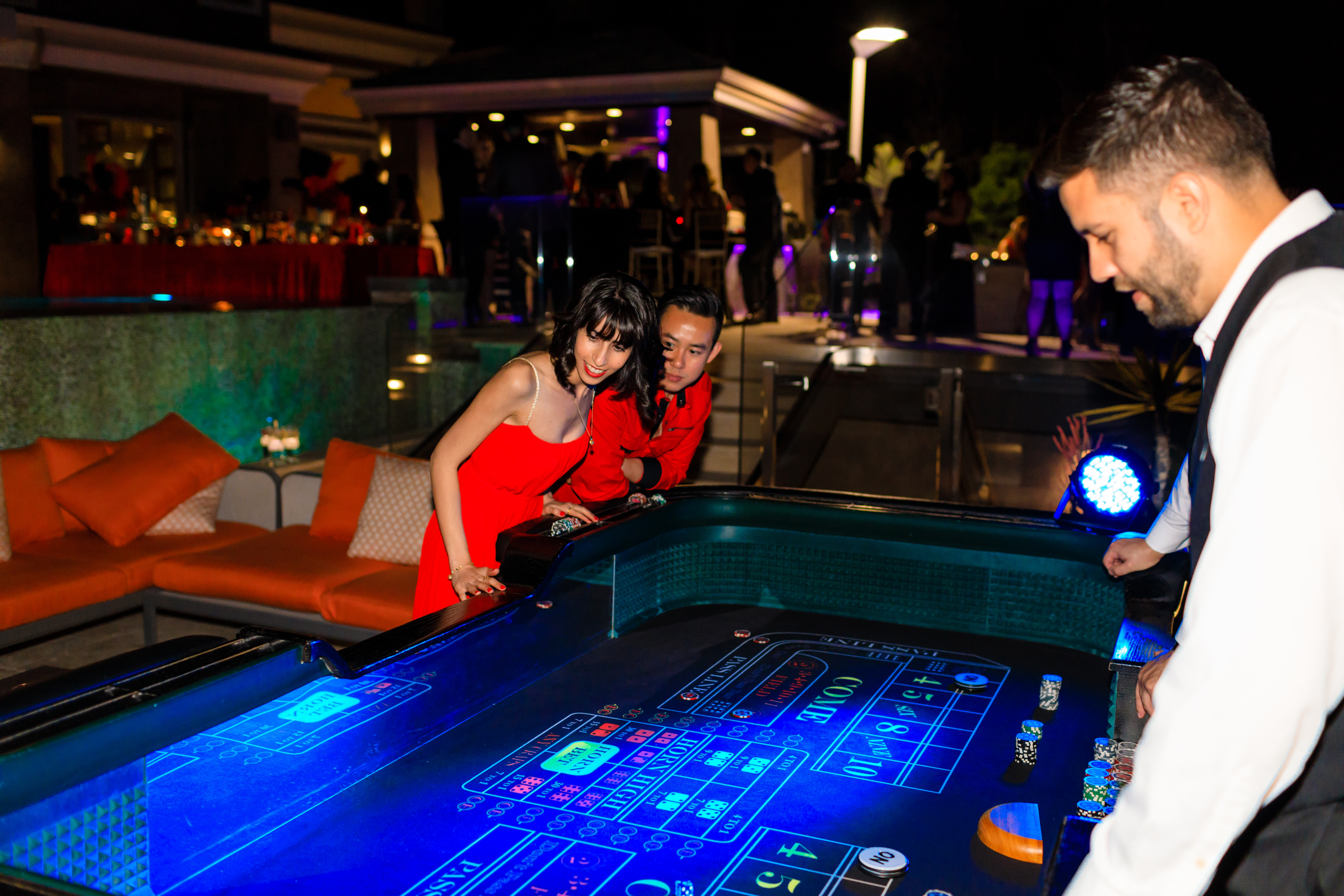Casino Night - Visuals by Arpit
