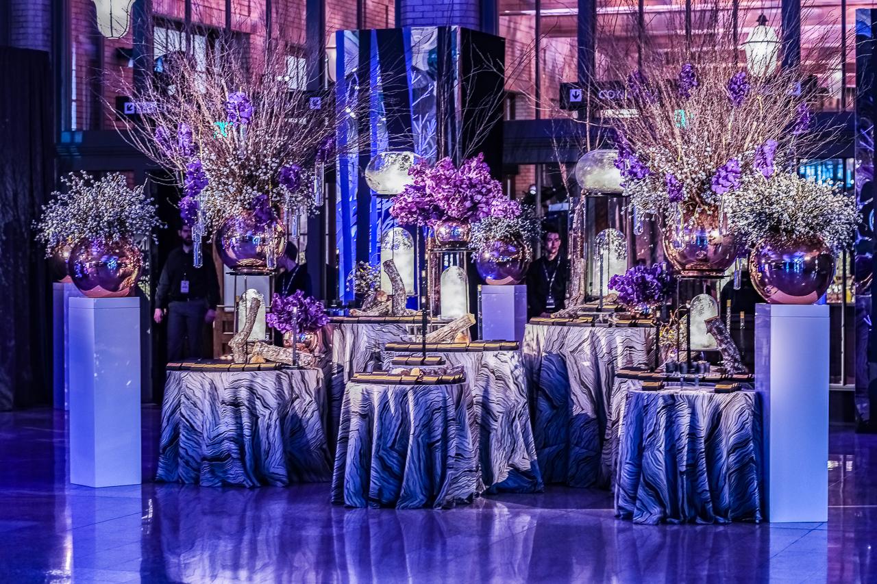 Super Bowl LII - NFL Owners' Dinner and Concert - Jerry Rose Floral & Event Design