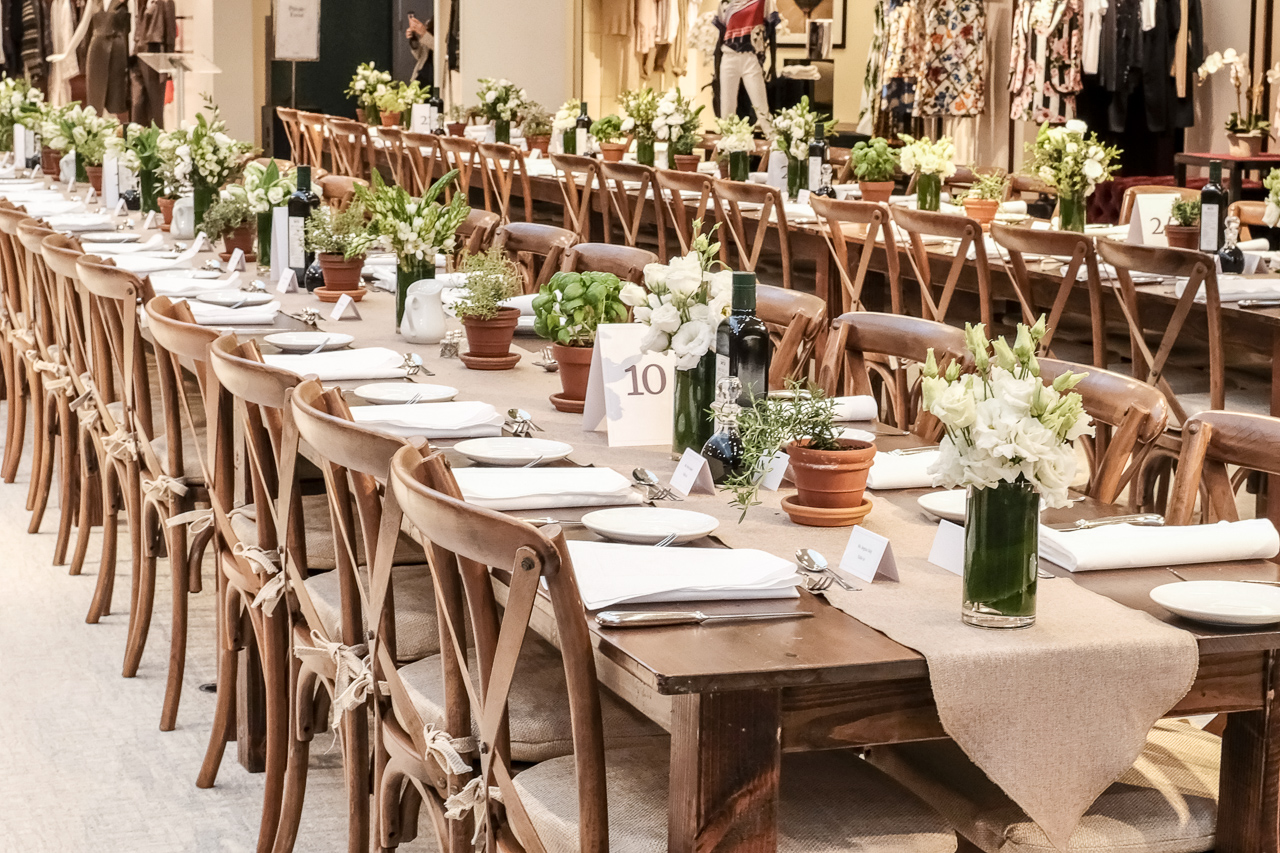 Brunello Cucinelli Tuscan-Inspired Lunch - Jerry Rose Floral & Event Design