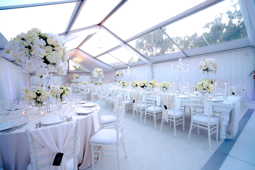 All-White Poolside Wedding - M Culinary Concepts