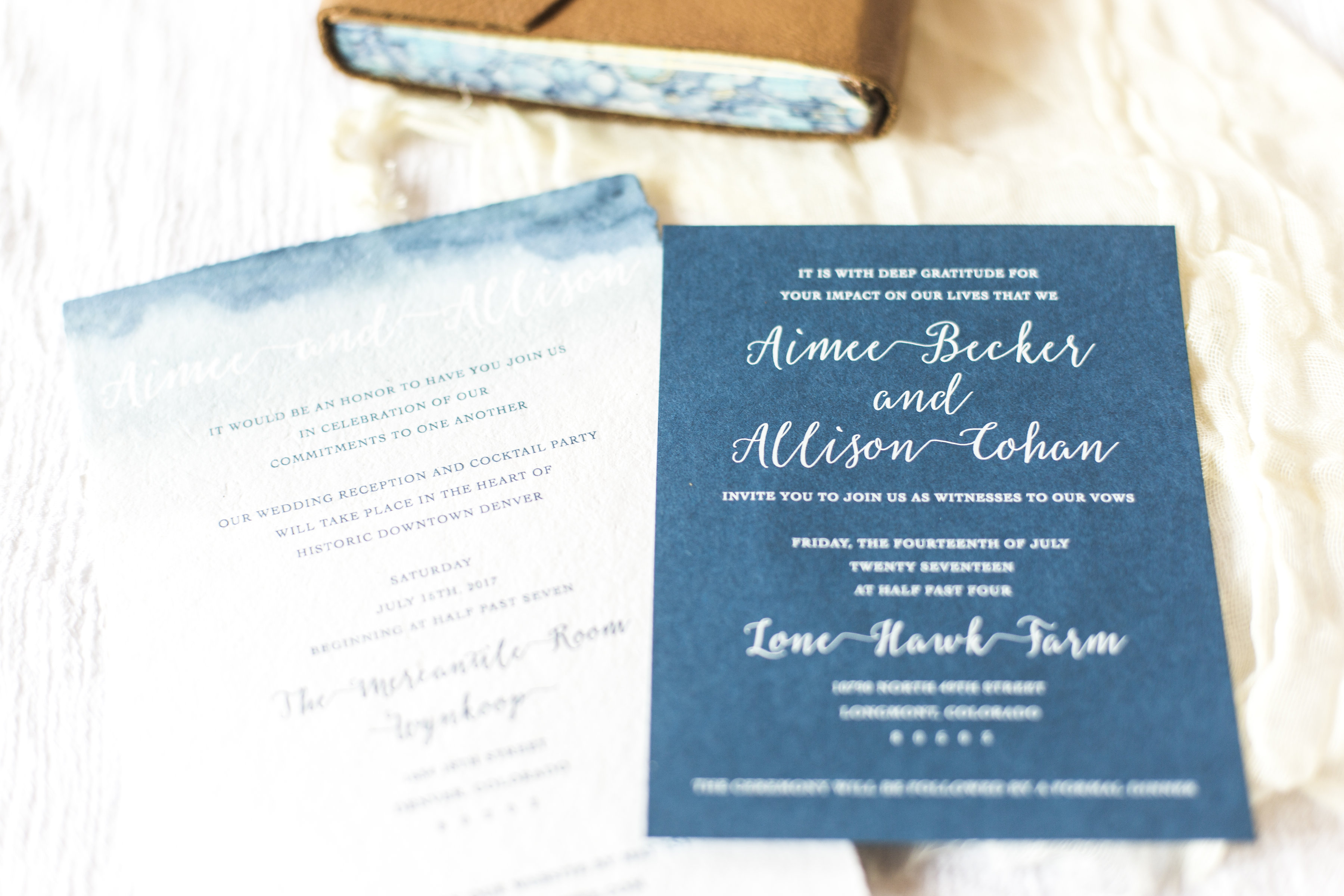 Ally & Aimee's Wedding - First Look Events