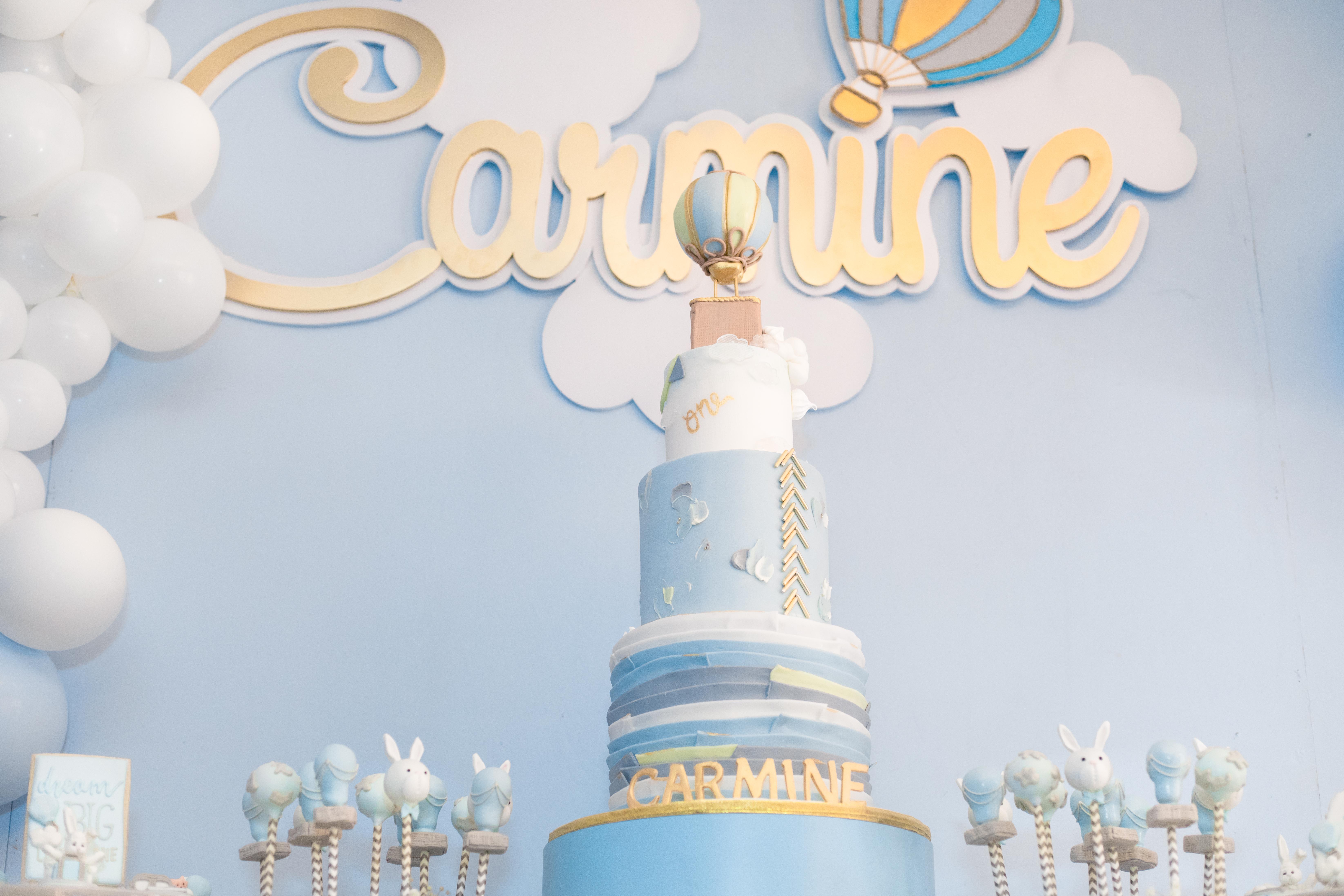 Carmine's Air Balloon 1st birthday - Creative Touch by Johanny