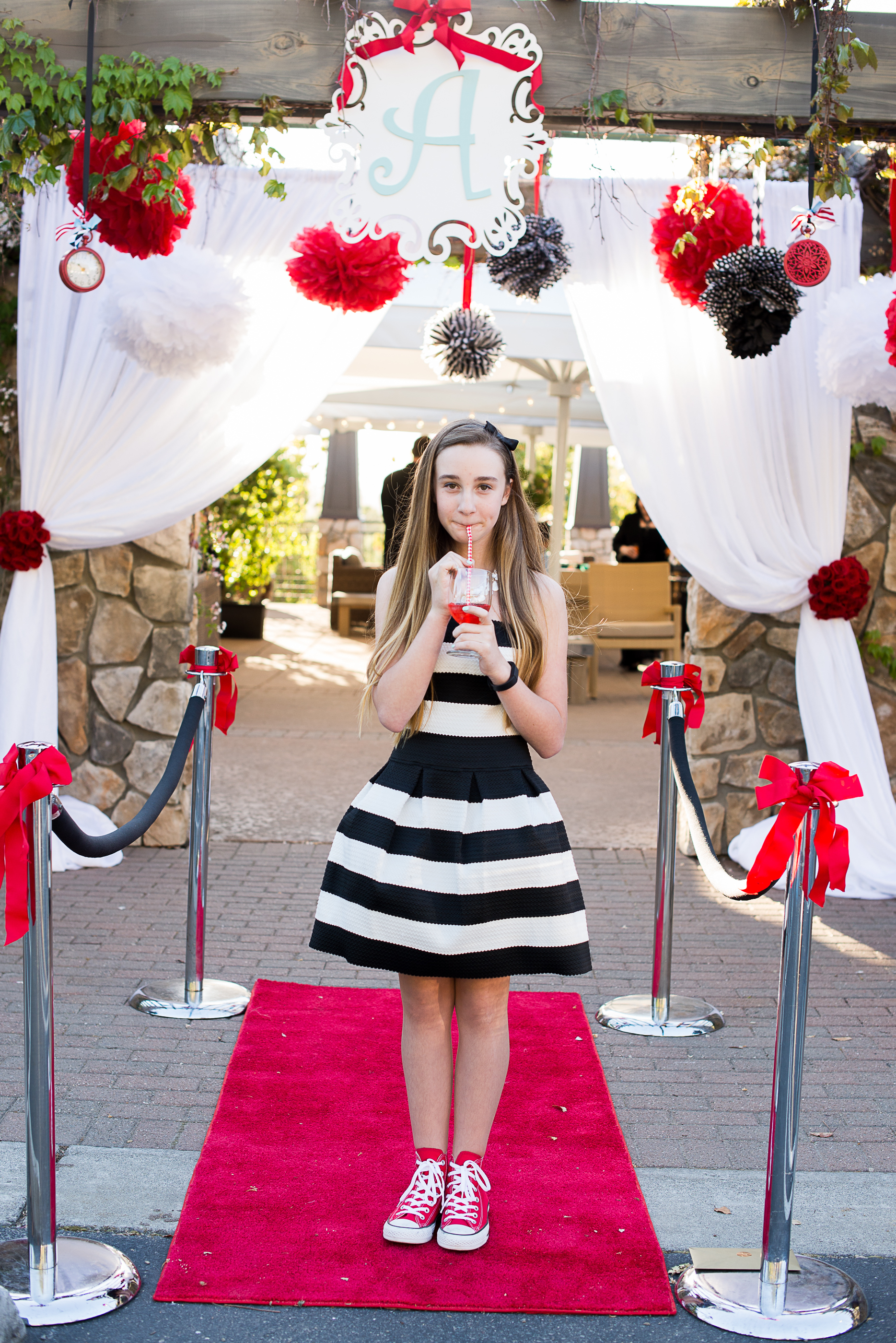 Avery In Wonderland Bat Mitzvah - Stacey & Company