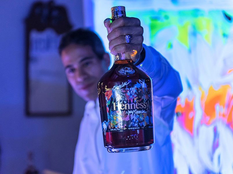 Hennessy VS + Jonone Limited Edition Bottle Launch Party - Eggwhites Catering