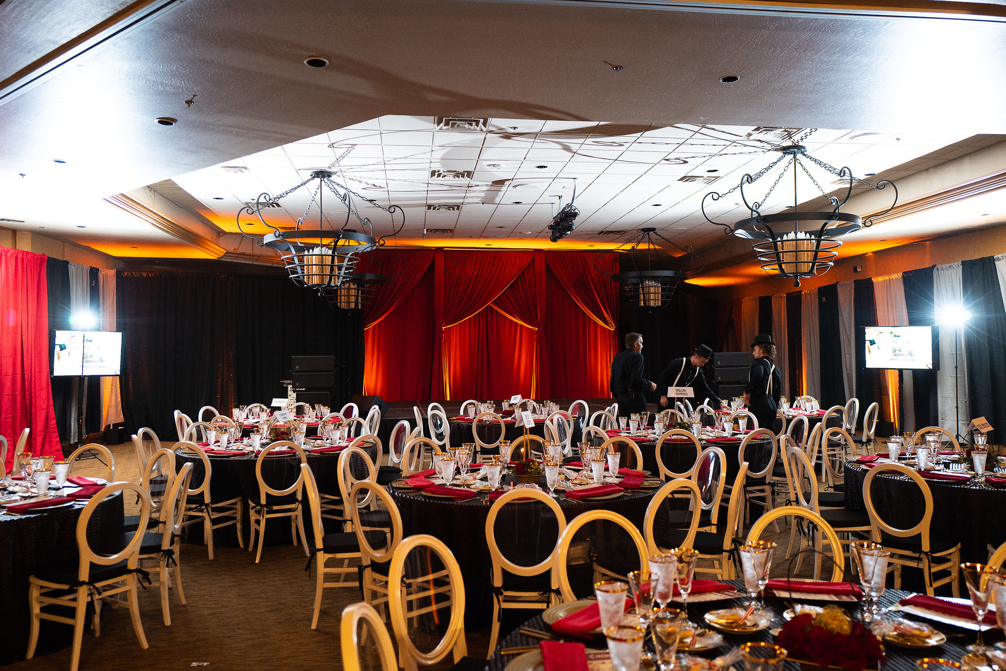 ILEA Arizona Zonies Awards, Circus Themed Dinner - M Culinary Concepts
