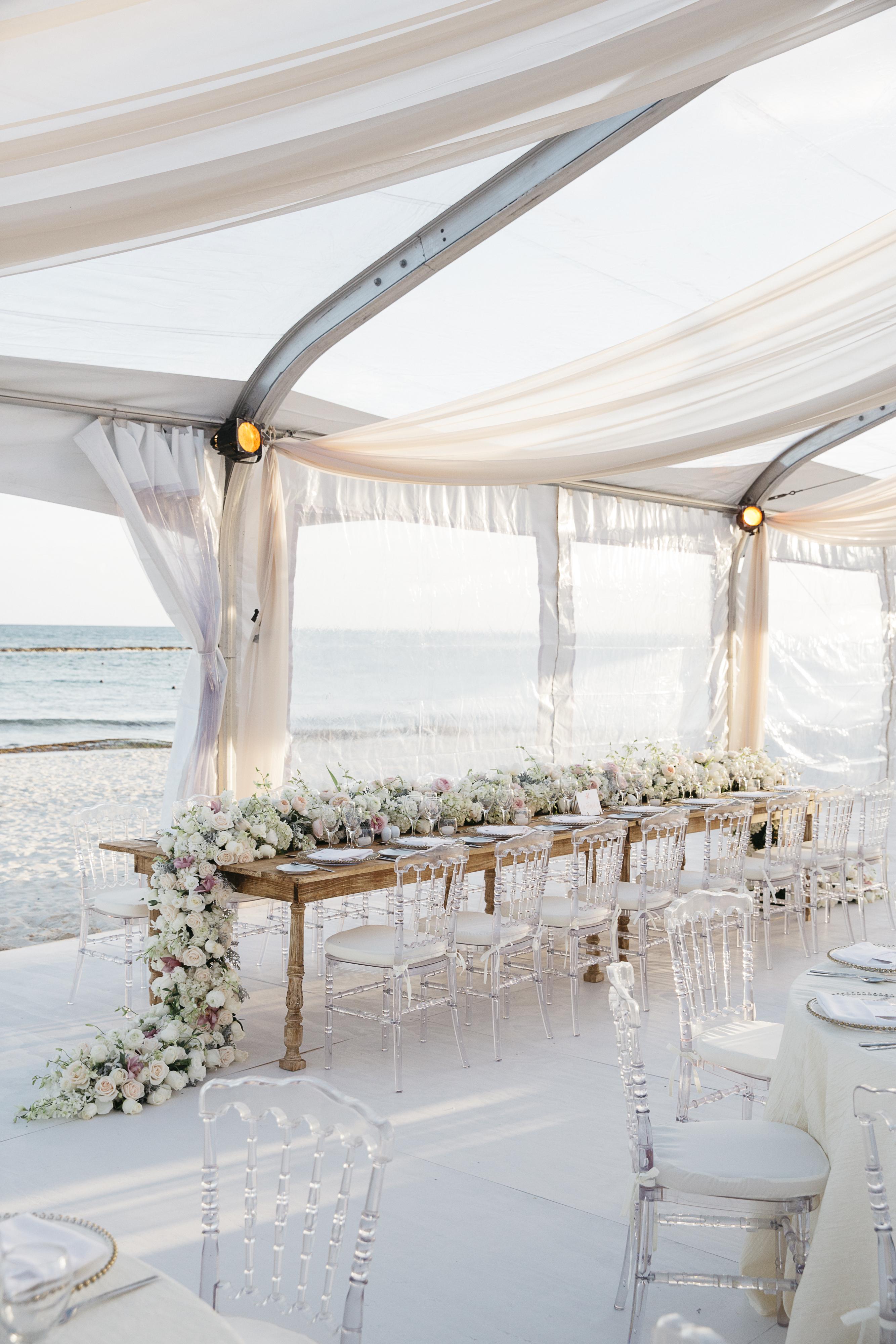 Beachside Destination Wedding in Mexico's Riviera Maya - DFW Events, Inc.
