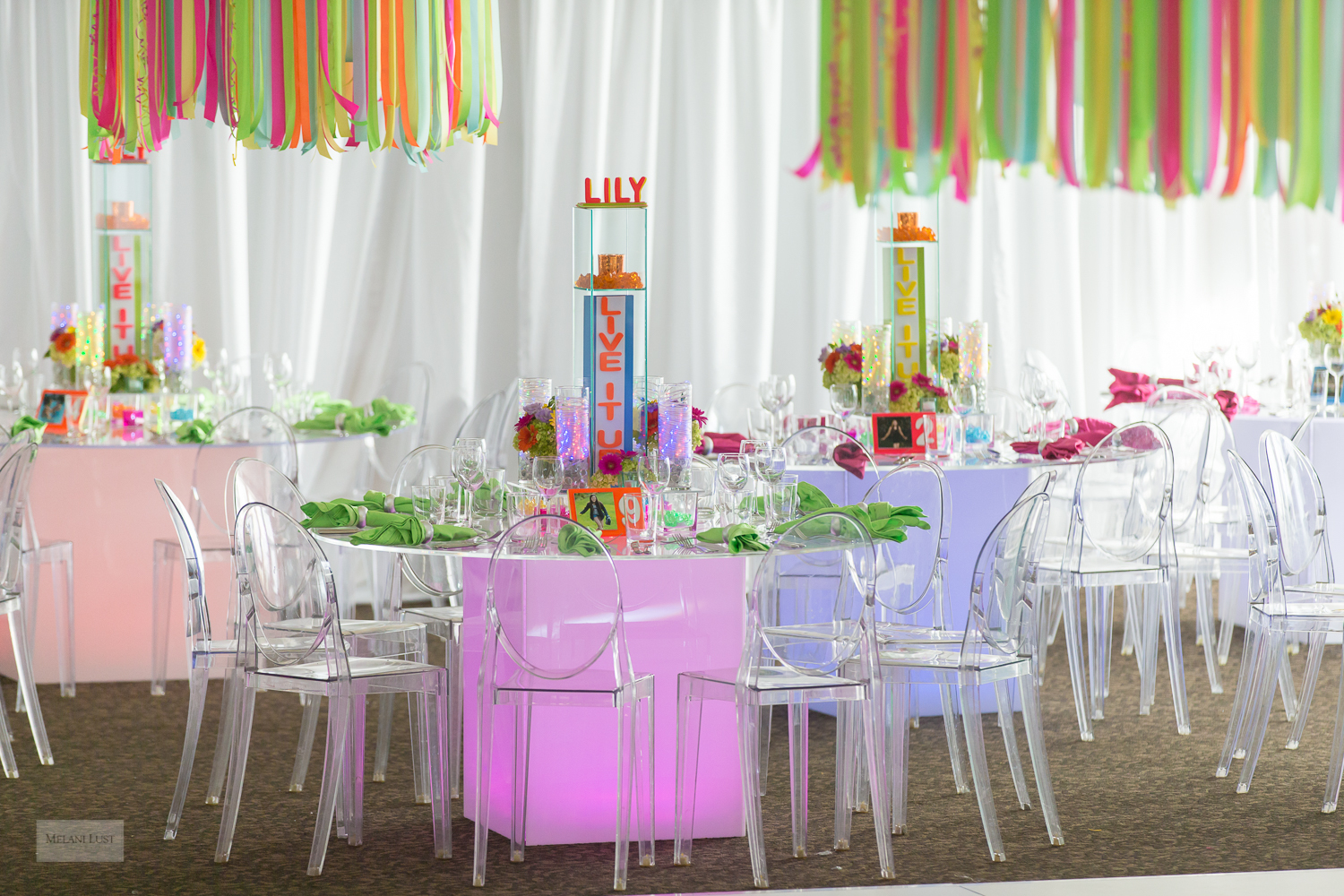 'Live It Up' with Lily Bat Mitzvah - Ruth Ridgeway Designs
