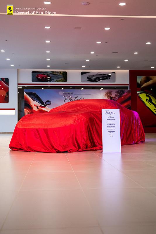 Ferrari of San Diego Unveils the Ferrari Portofino - CRATEFUL Catering