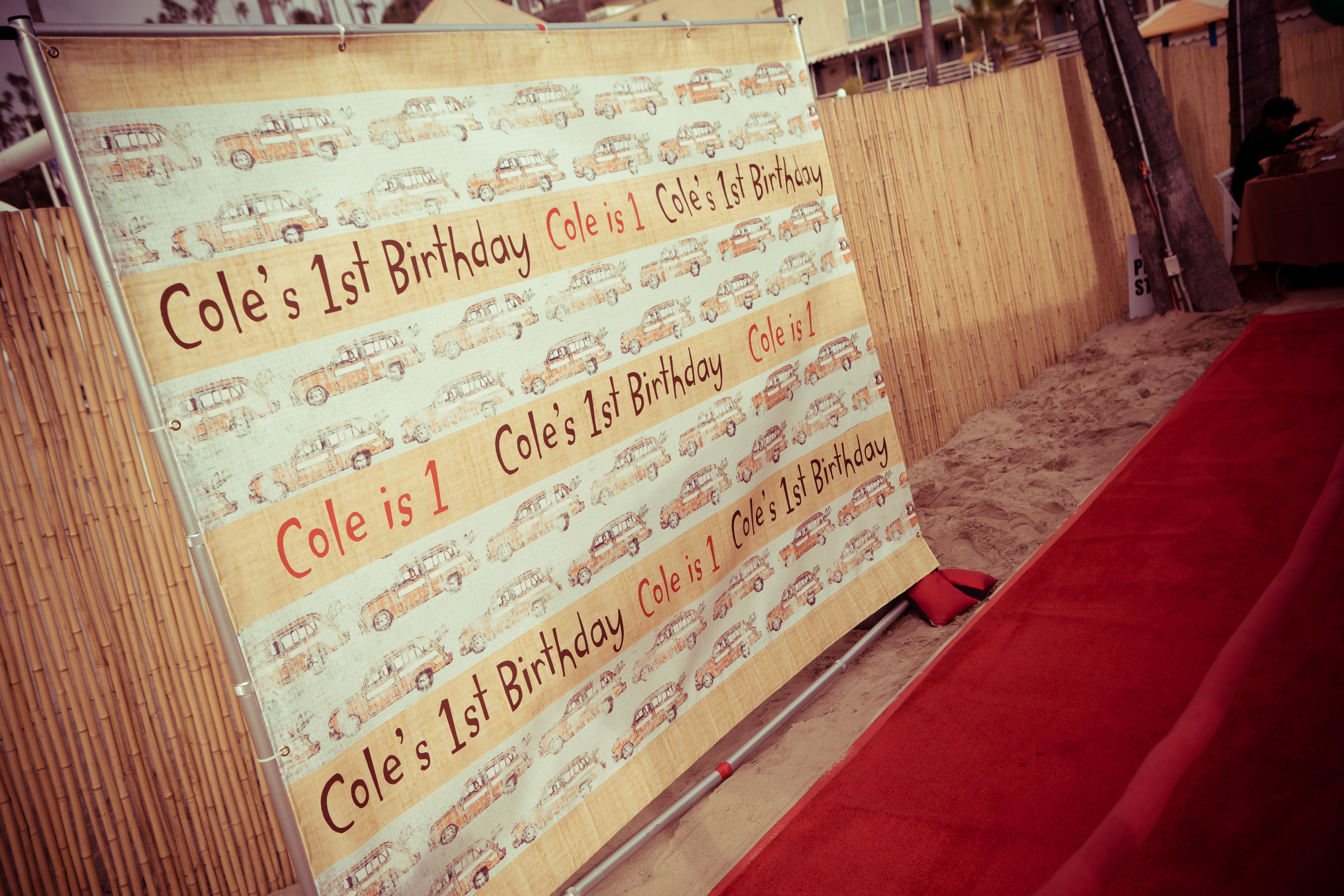 California Chill 1st Birthday Party - Geffen Events