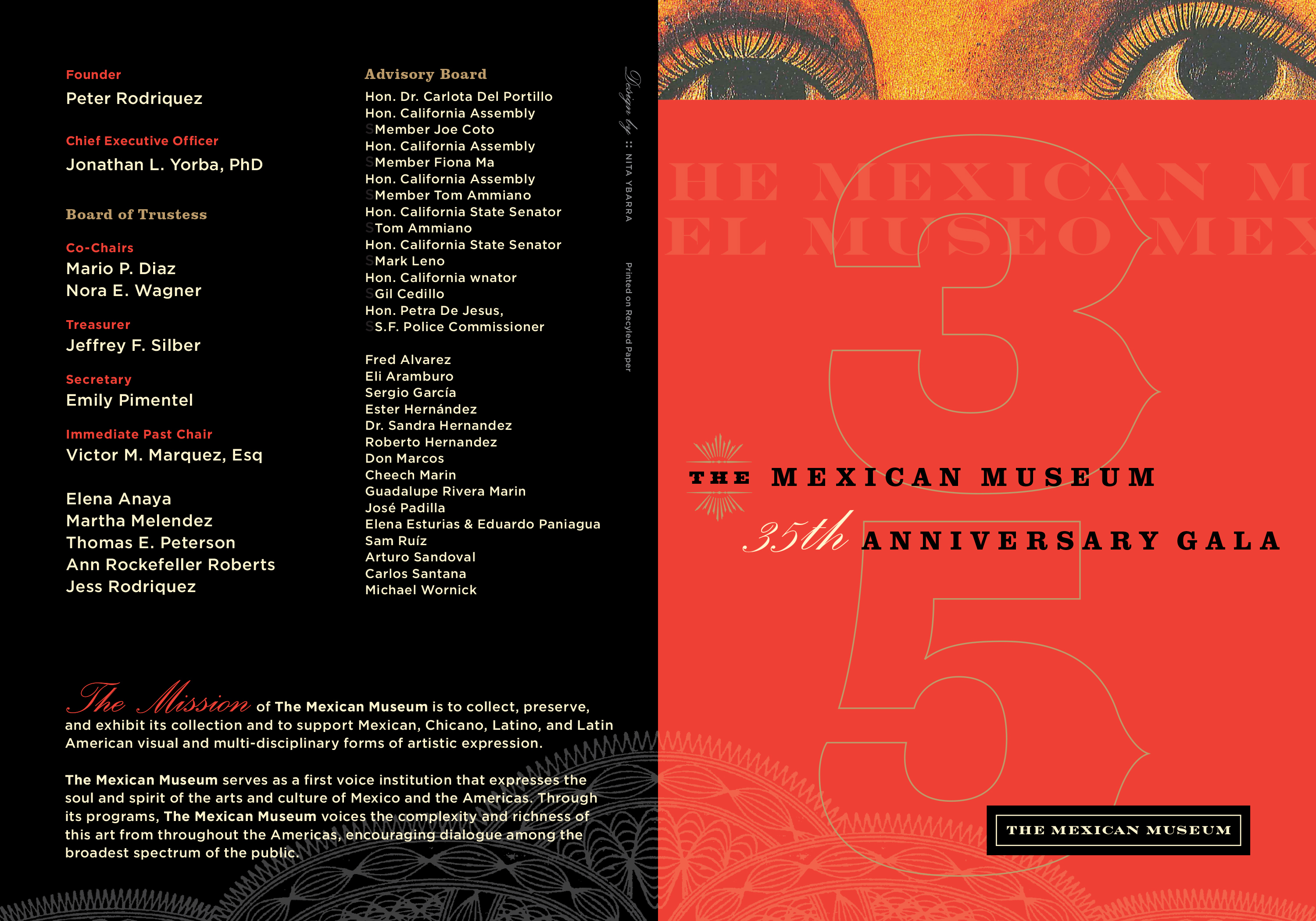 The Mexican Museum 35th Anniversary Gala - NYDesign/SF