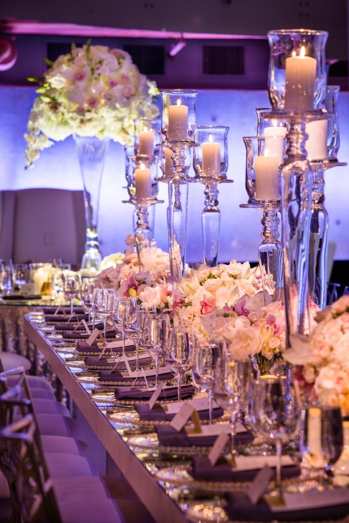 Dreamy New Year's Eve Wedding - HMR Designs