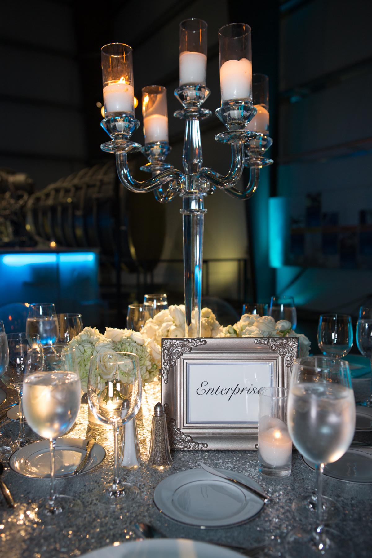 Beautiful Blue Bat Mitzvah - Soiree LA Event Design