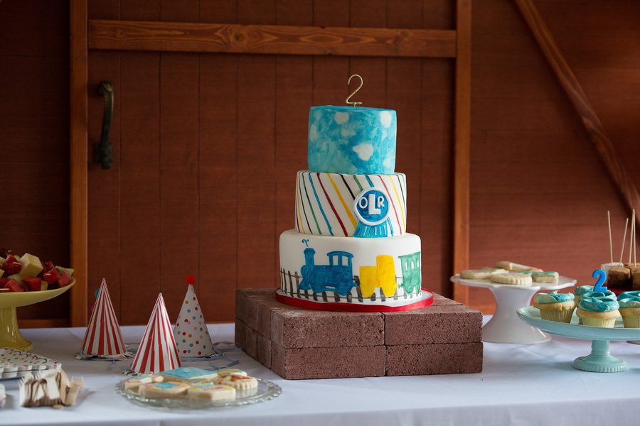 Train Themed Birthday Party - Lincoln + Lucy Photography