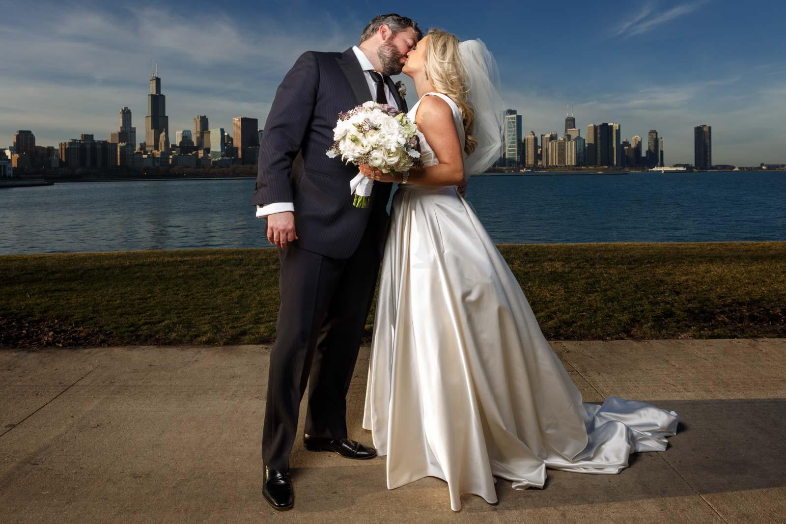 Chicago wedding photographer: Matt & Rebecca at the Union League Club