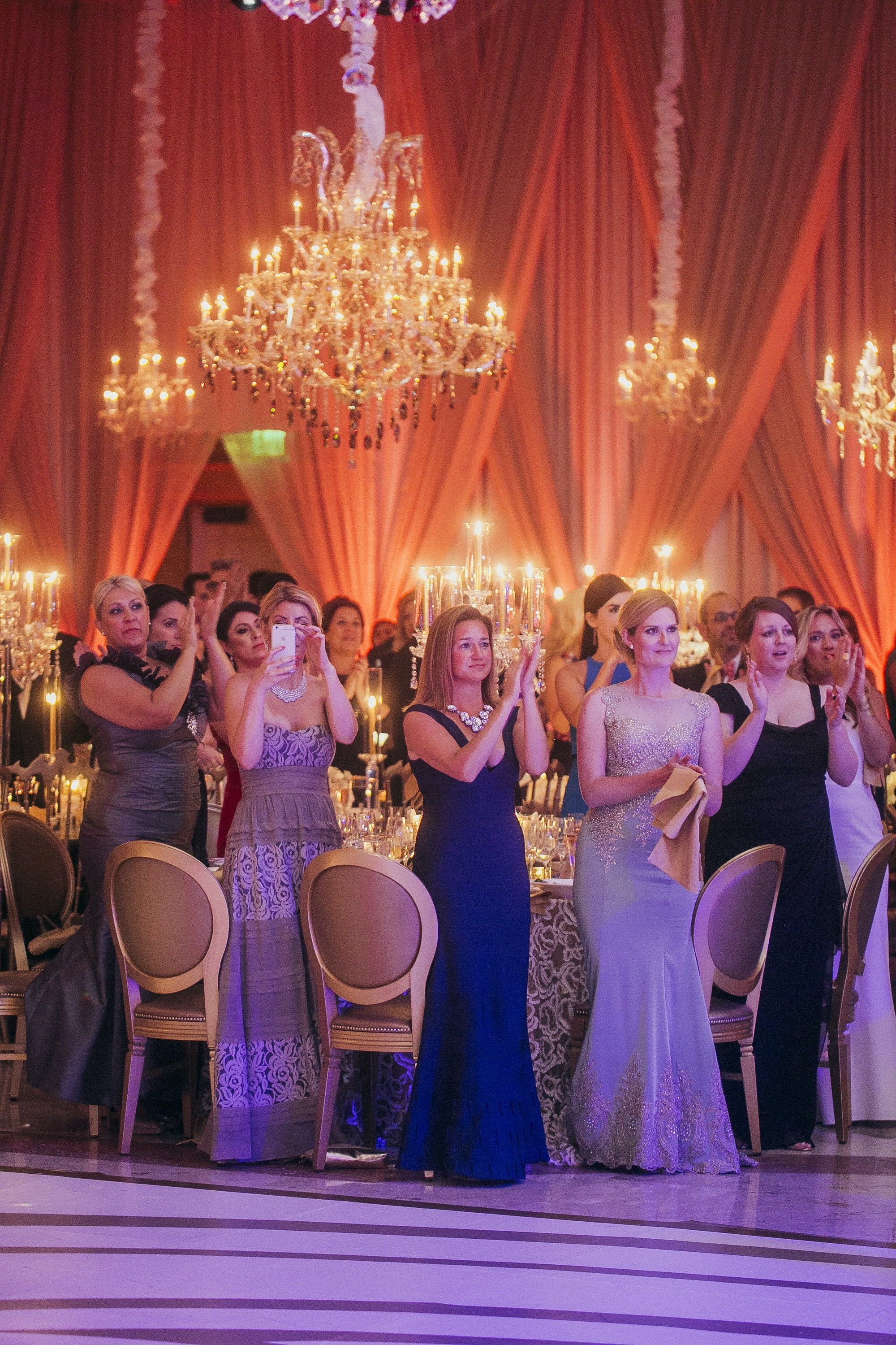 Signature Chandeliers Event Sparkles With Chandeliers