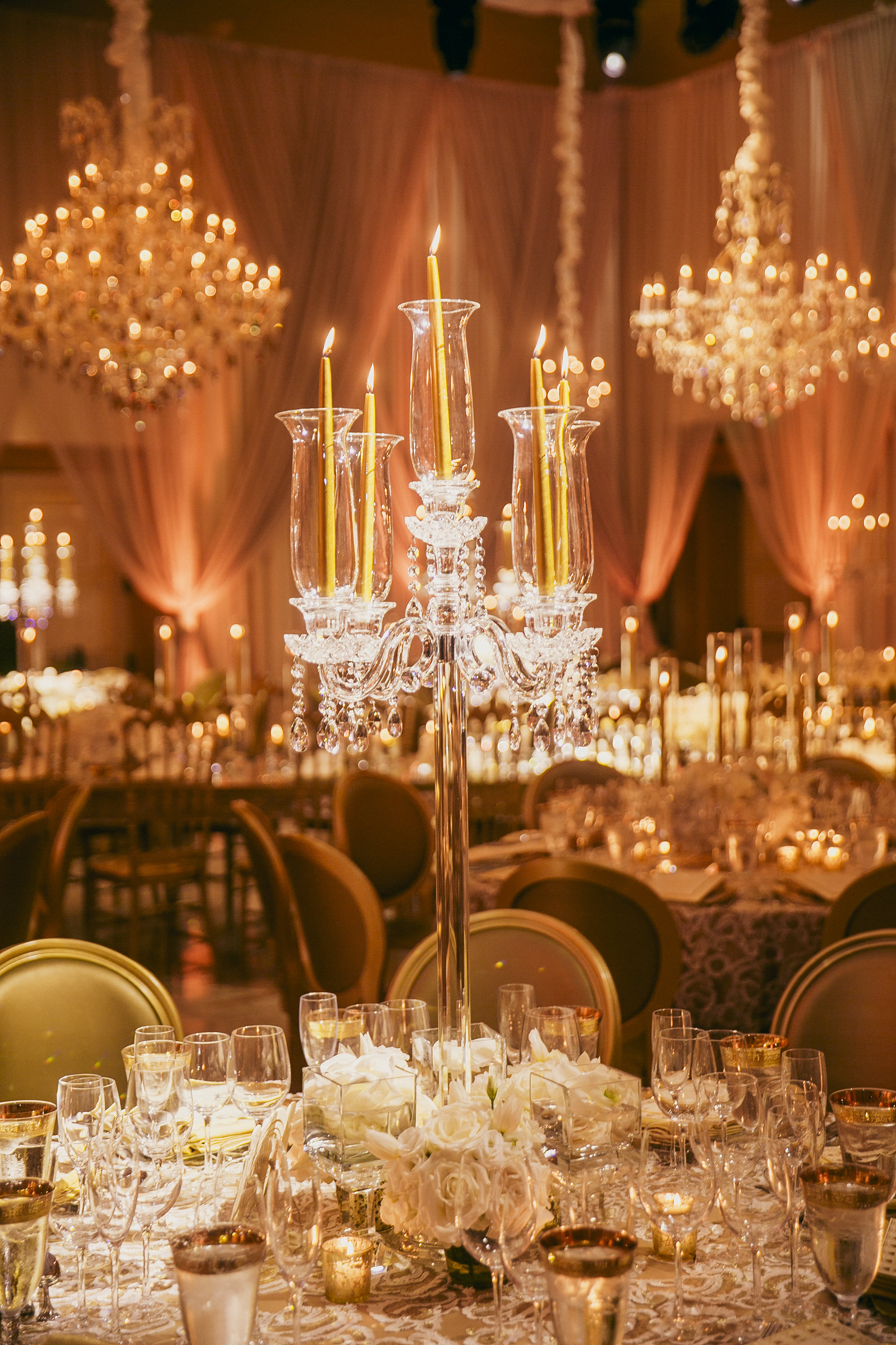 Event Sparkles with Chandeliers - Signature Chandeliers