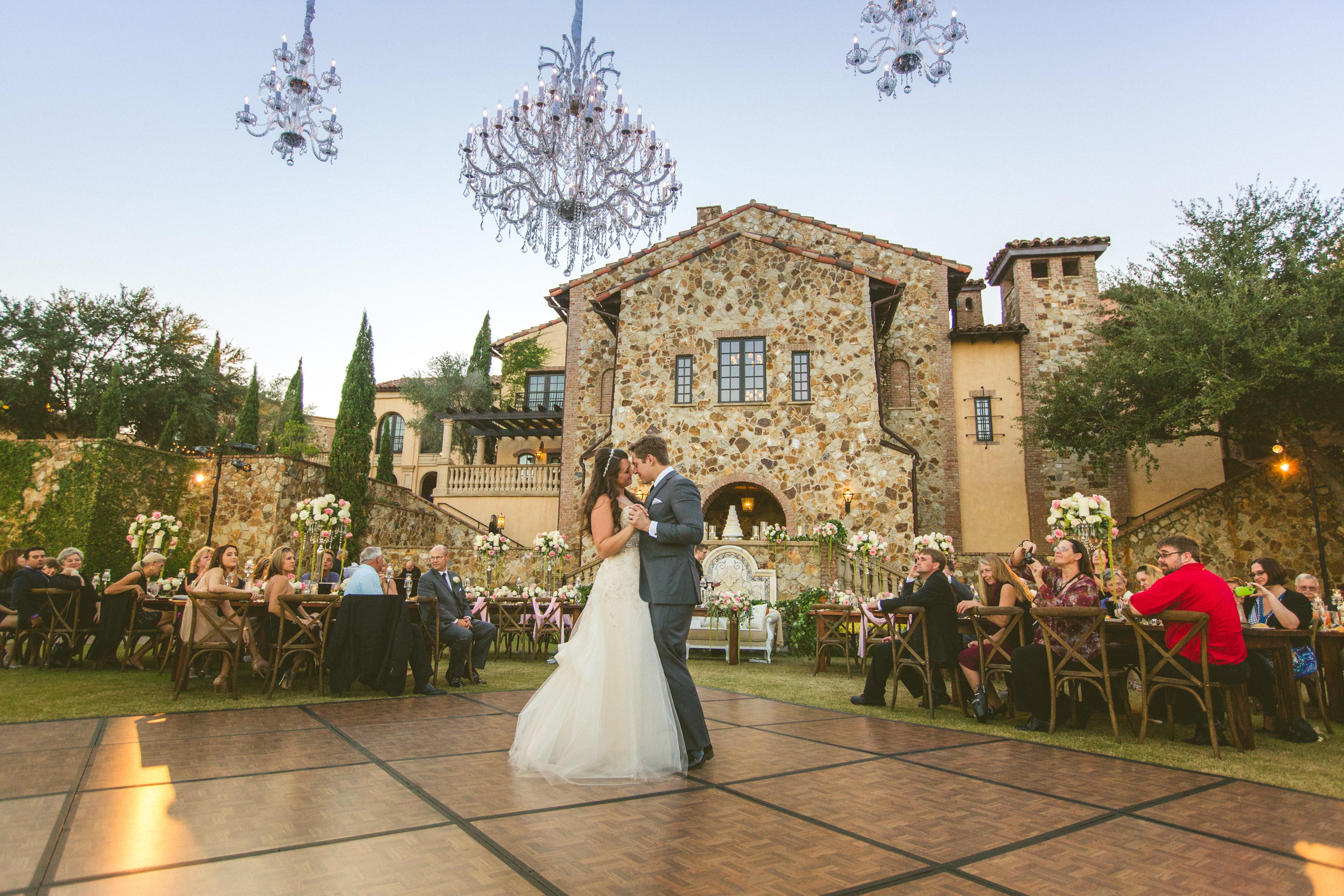 Breathtaking Outdoor Wedding - Signature Chandeliers