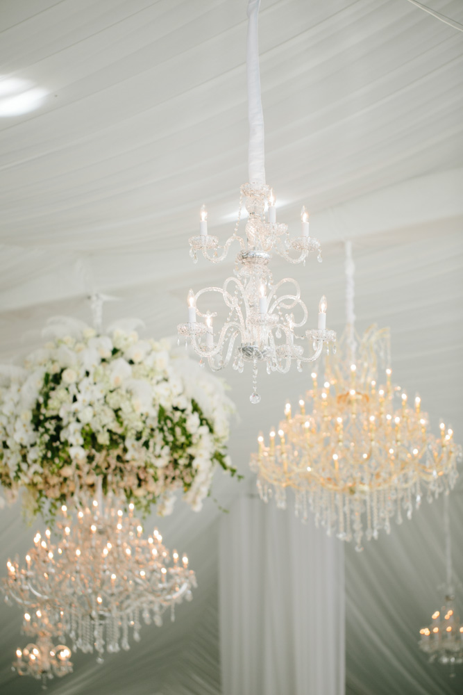 Great Gatsby Themed Event - Signature Chandeliers