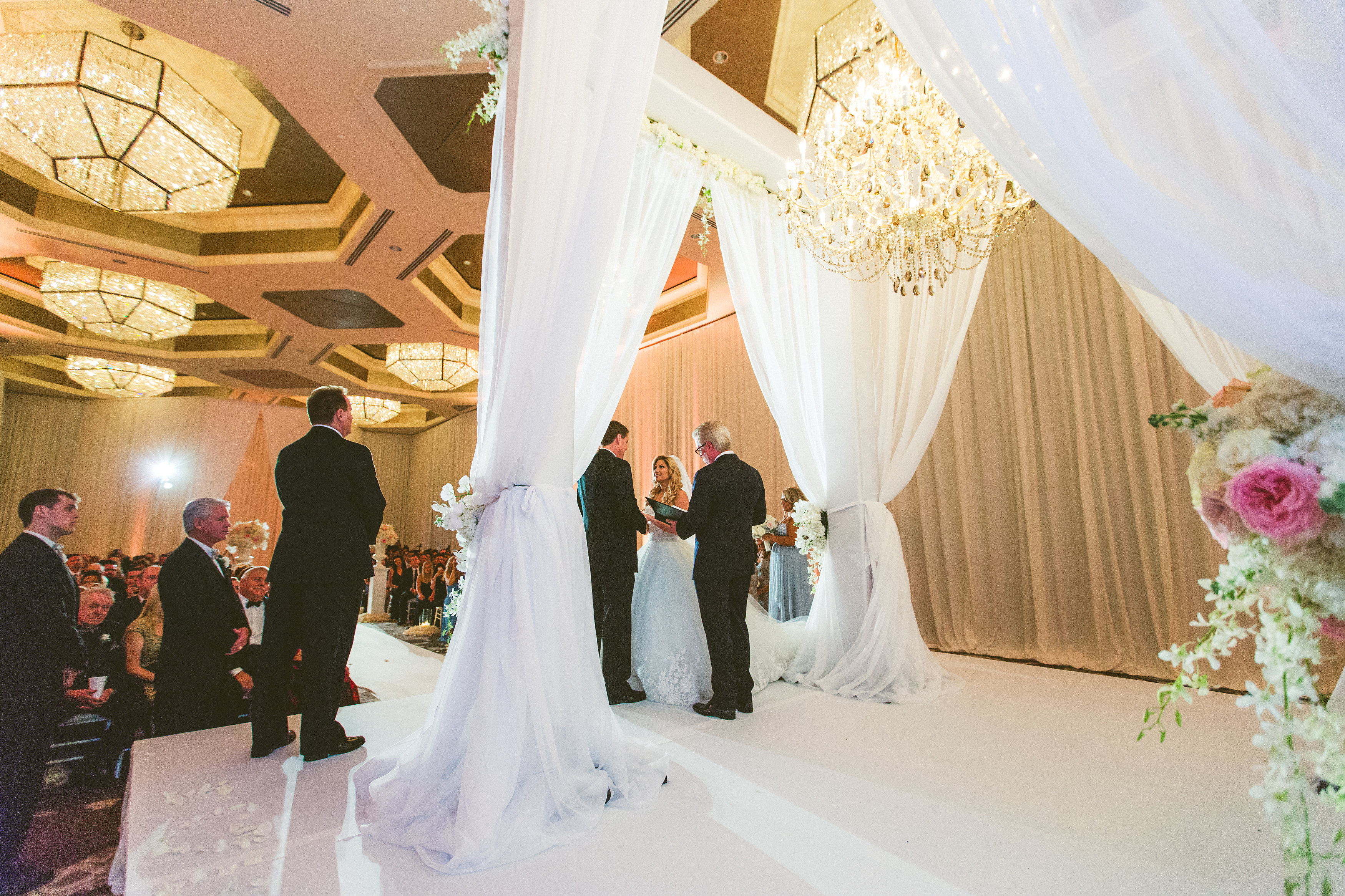Luxurious Orlando Wedding - Signature Chandeliers