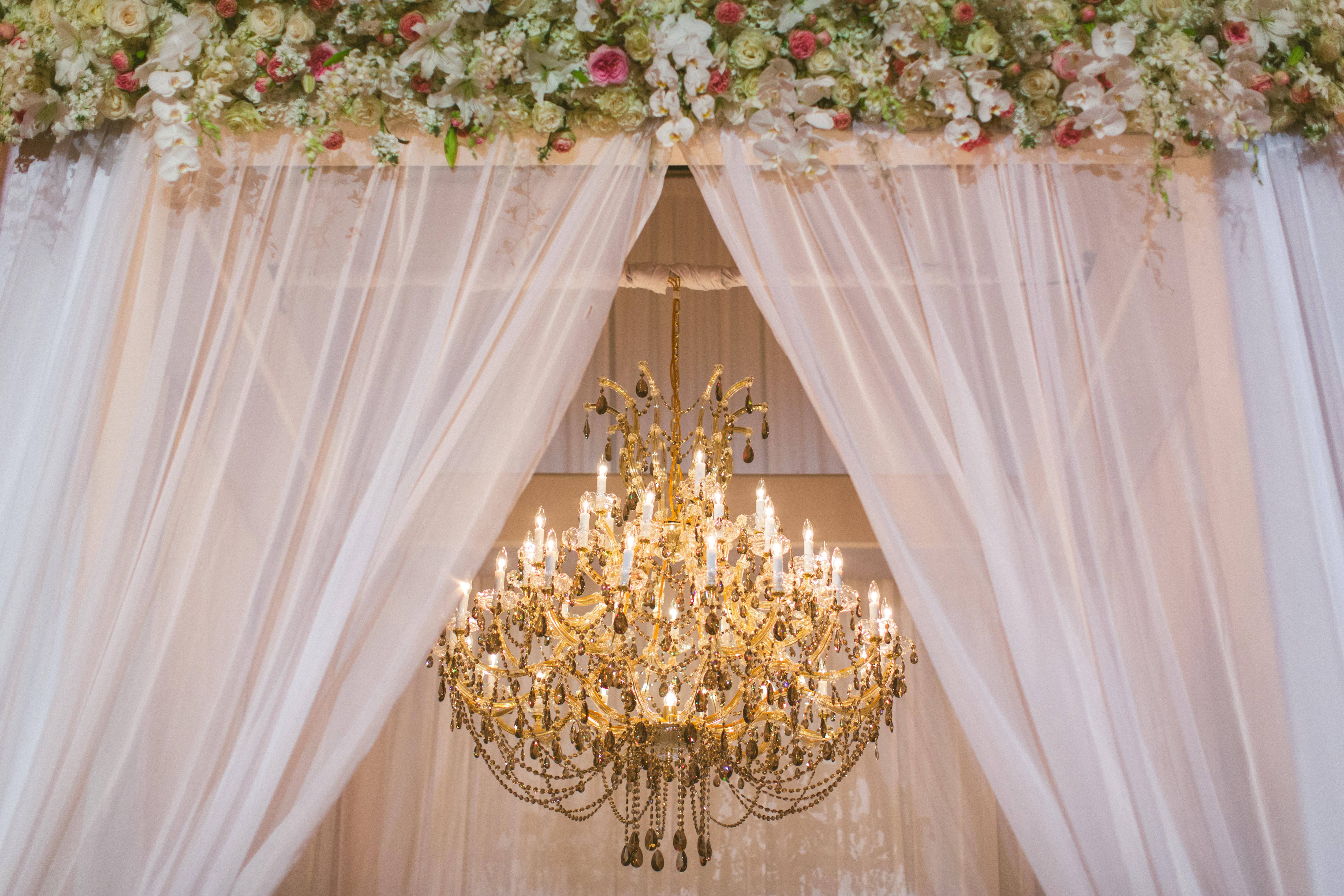 Luxurious Orlando Wedding - Signature Chandeliers
