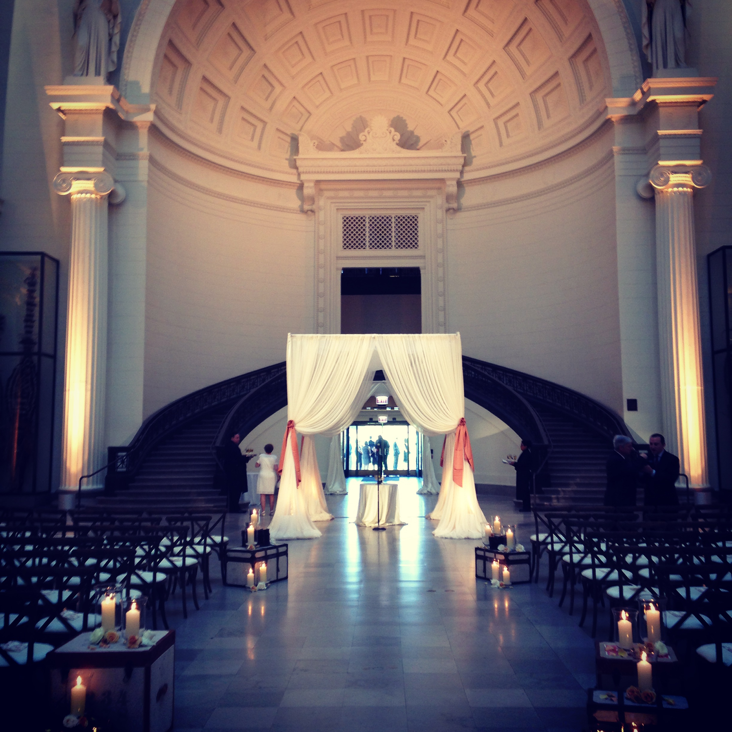 Wedding at The Field Museum by Liven It Up Events