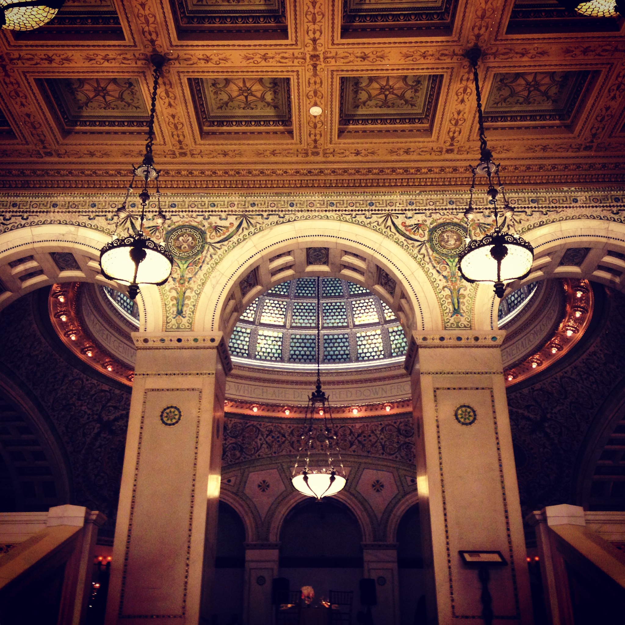 Wedding Reception at the Chicago Cultural Center