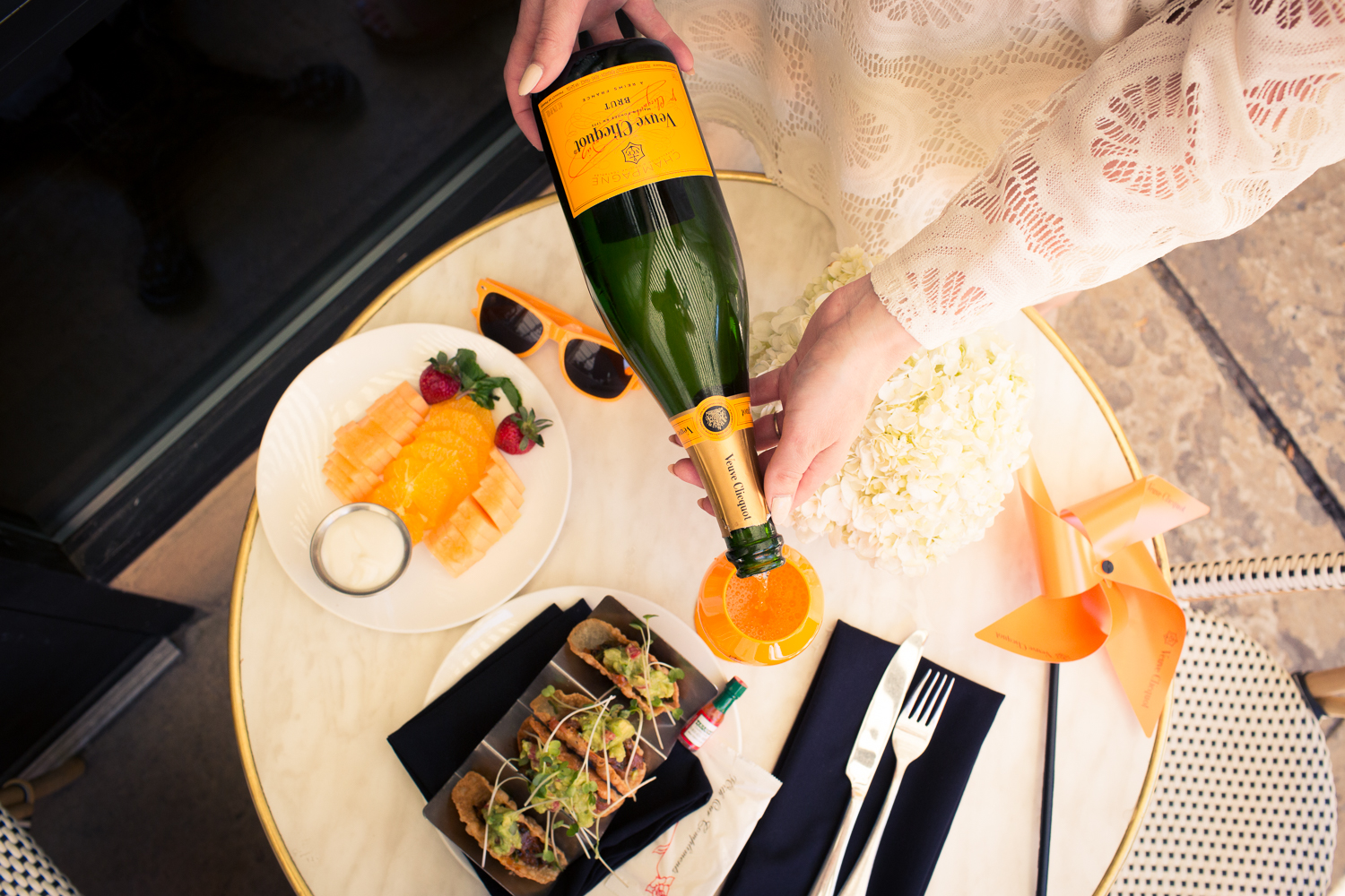 Veuve Clicquot Event - Hotel ZaZa Dallas