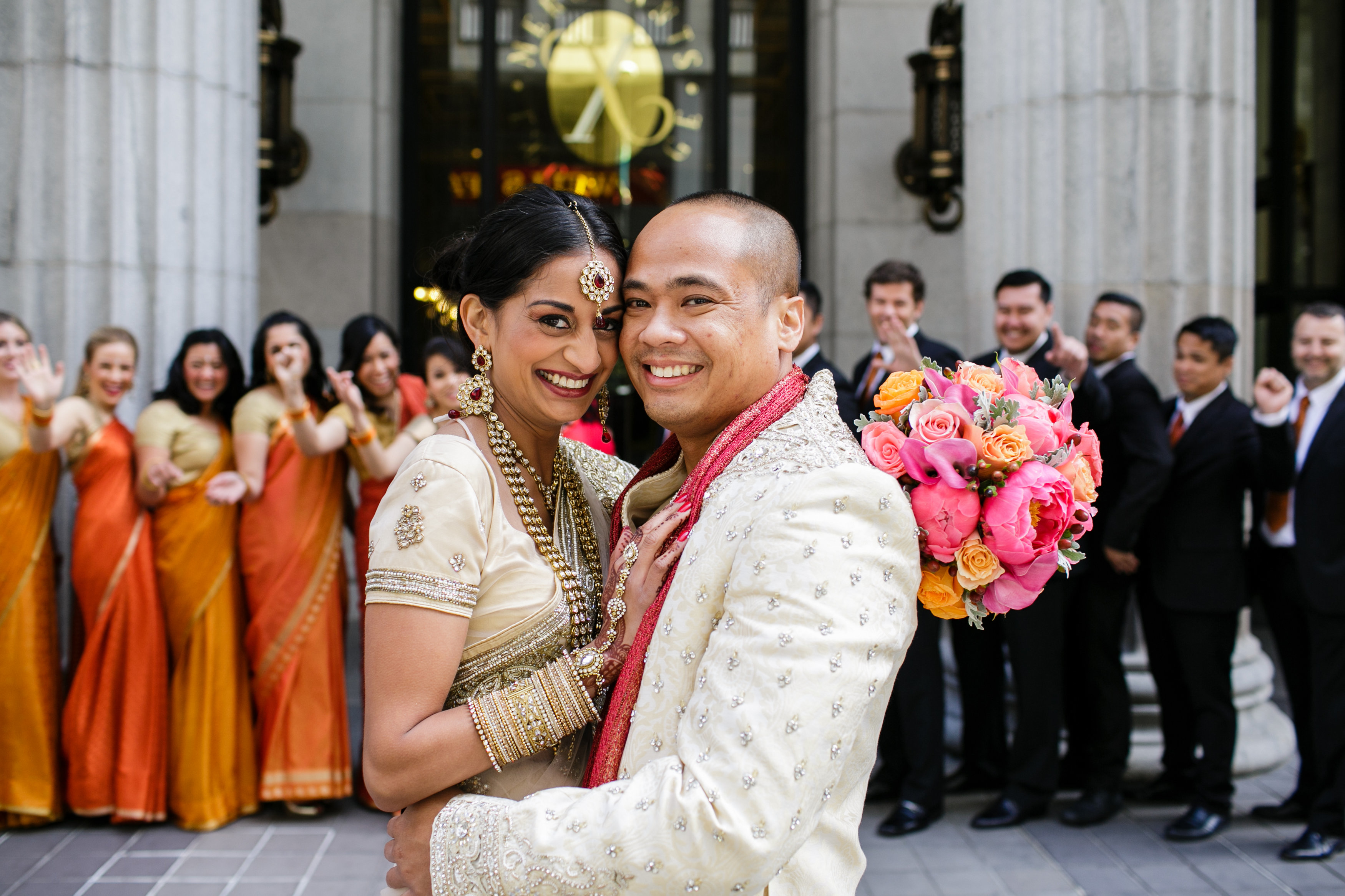 Southeast Asian Wedding at the Julia Morgan Ballroom in San Francisco, California. Event Design & Planning by Anaïs Event Planning & Design.