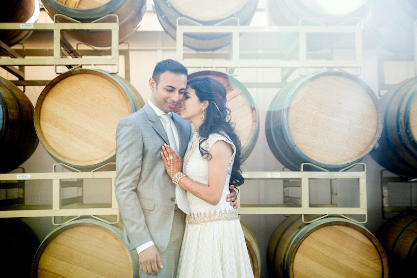 Sujata & Ani at B.R. Cohn Winery