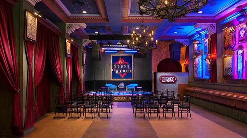 House Of Blues San Diego Restaurant Bar Partyslate