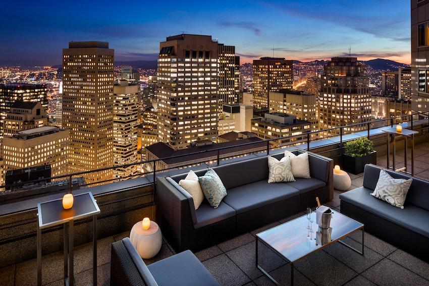 Loews Regency San Francisco The Sky Deck Partyslate
