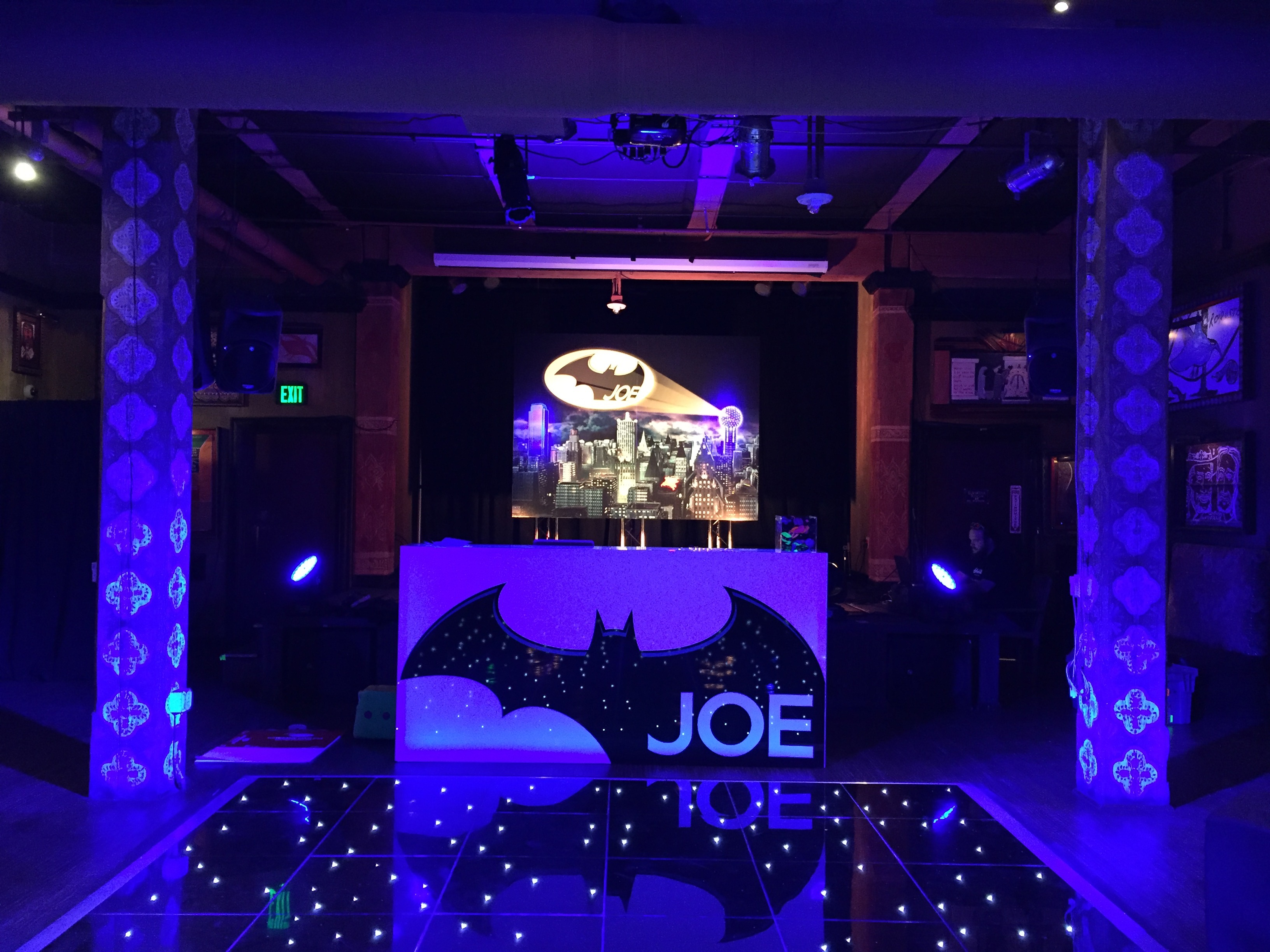 Bat Man Bar Mitzvah Party - RS Event Productions