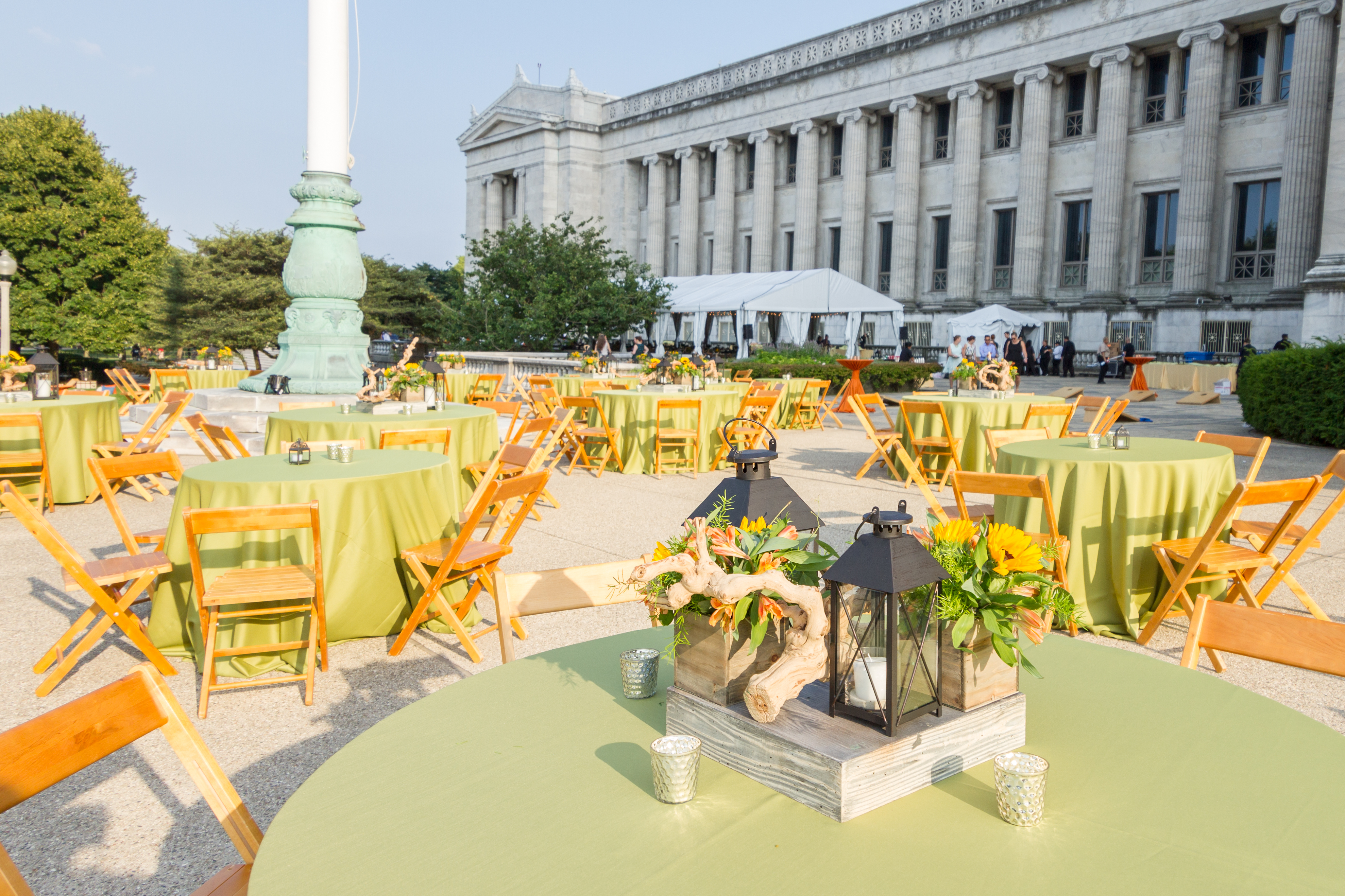 Corporate Party at The Field Museum - Kehoe Designs