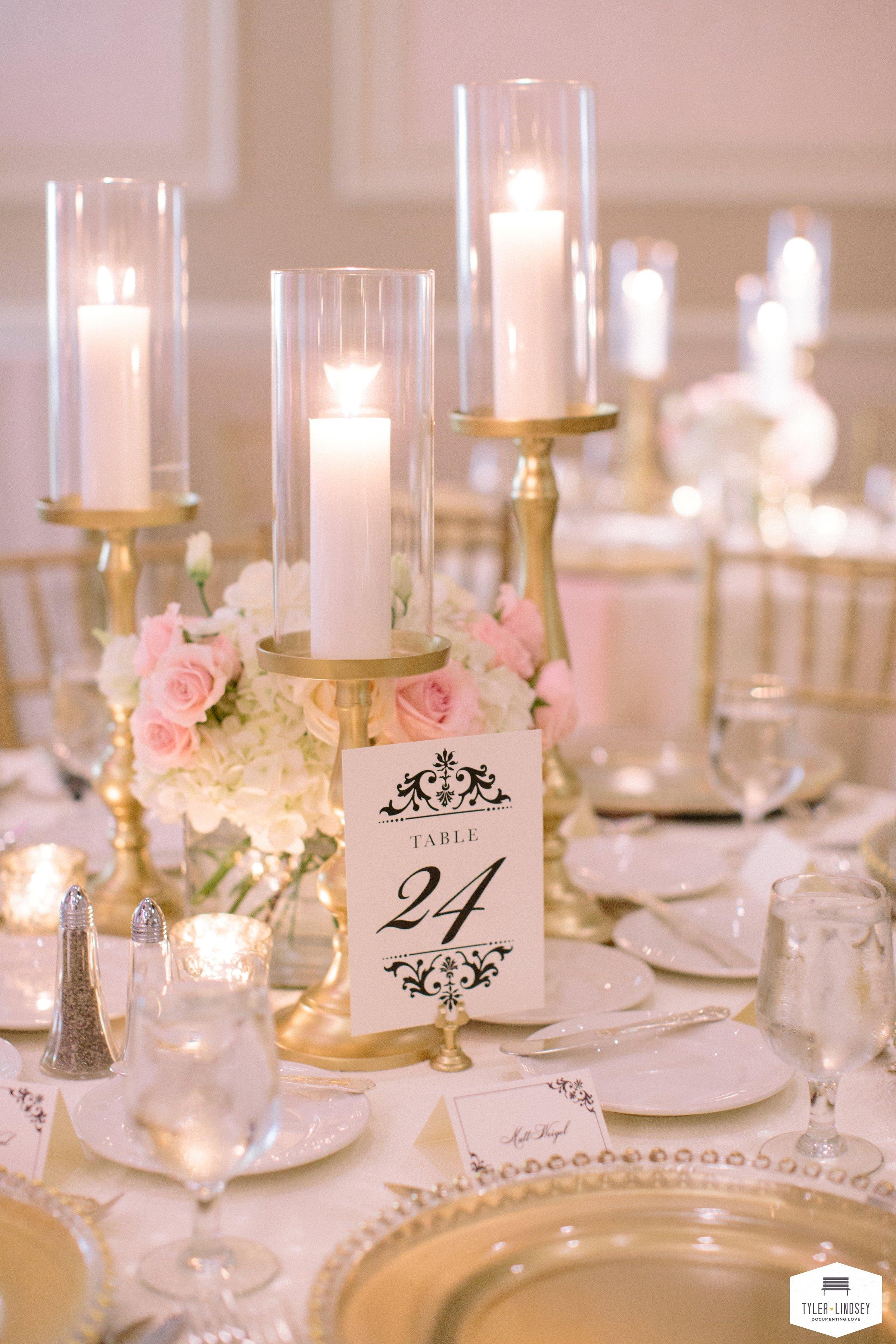 Elegant Blush, Pink and White Wedding - Prashe Decor