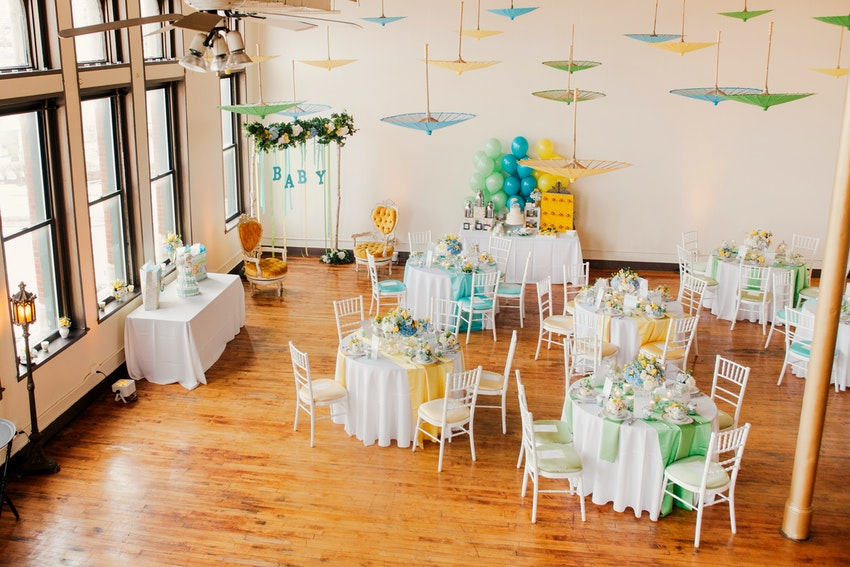 Amazing baby shower by an amazing team of professionals at Creativo Loft.