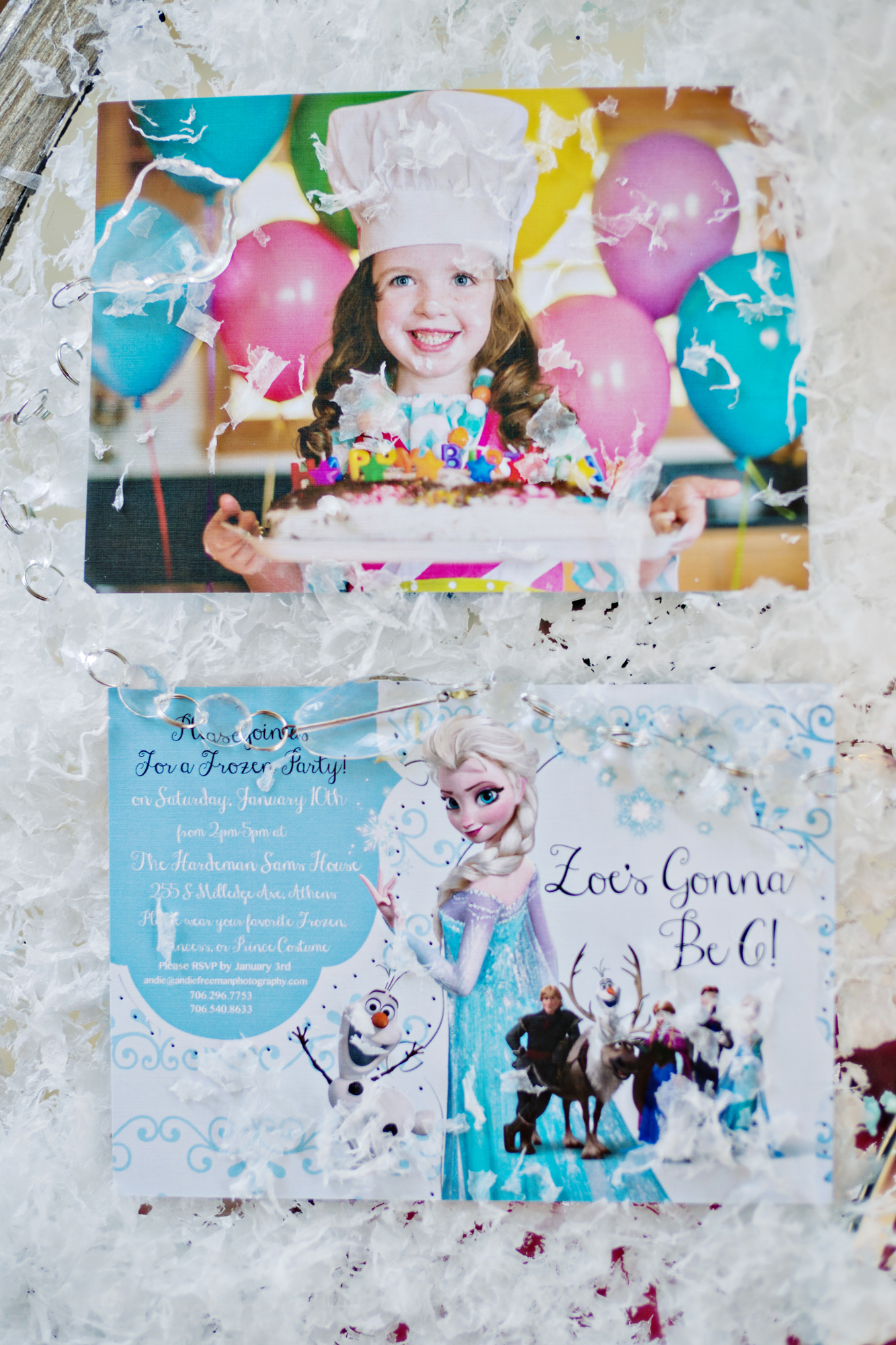Luxury Frozen Themed 6th Birthday Party - Andie Freeman Photography
