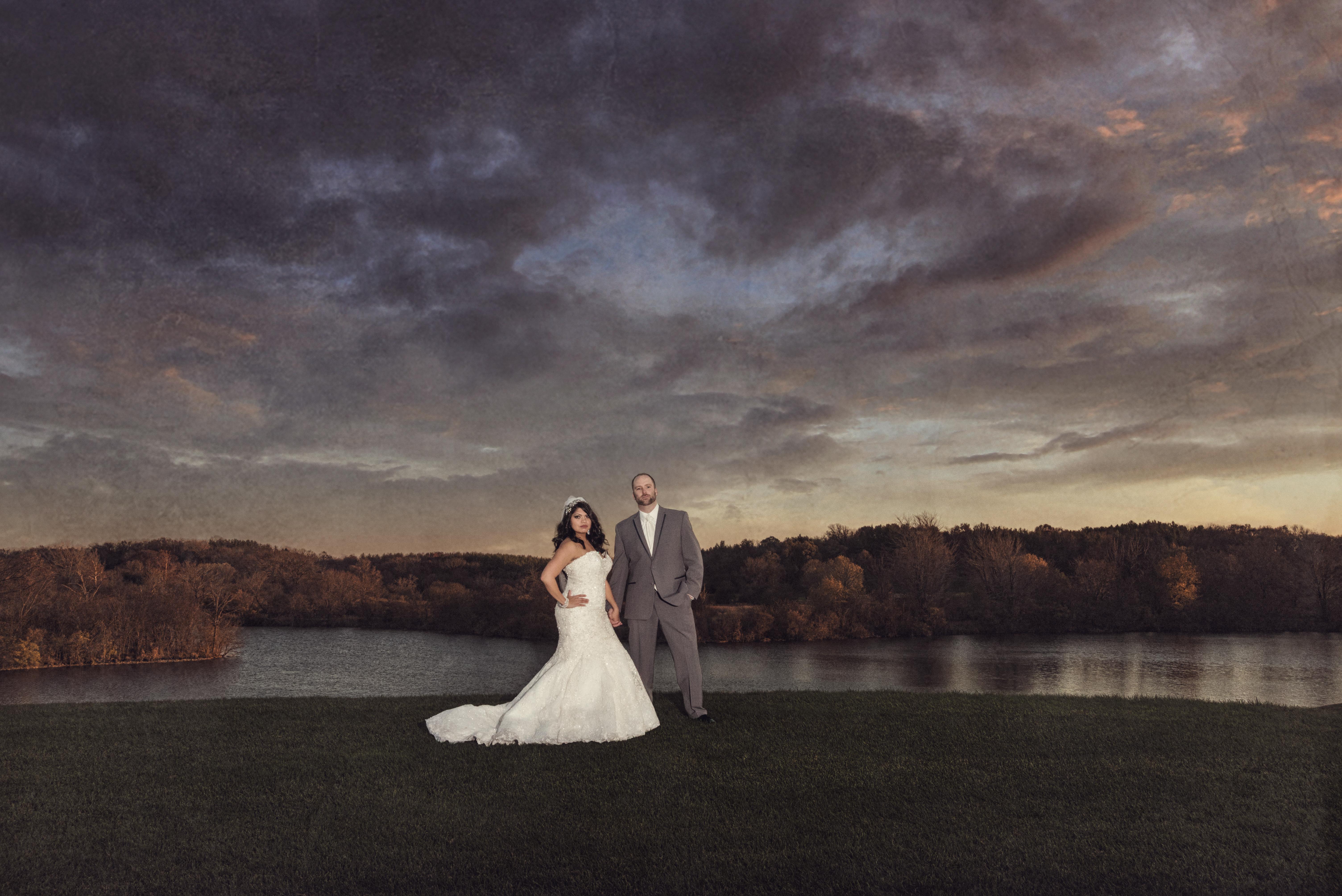 Artistic Wedding Image at Grand Geneva Resort in Lake Geneva Wisconsin.