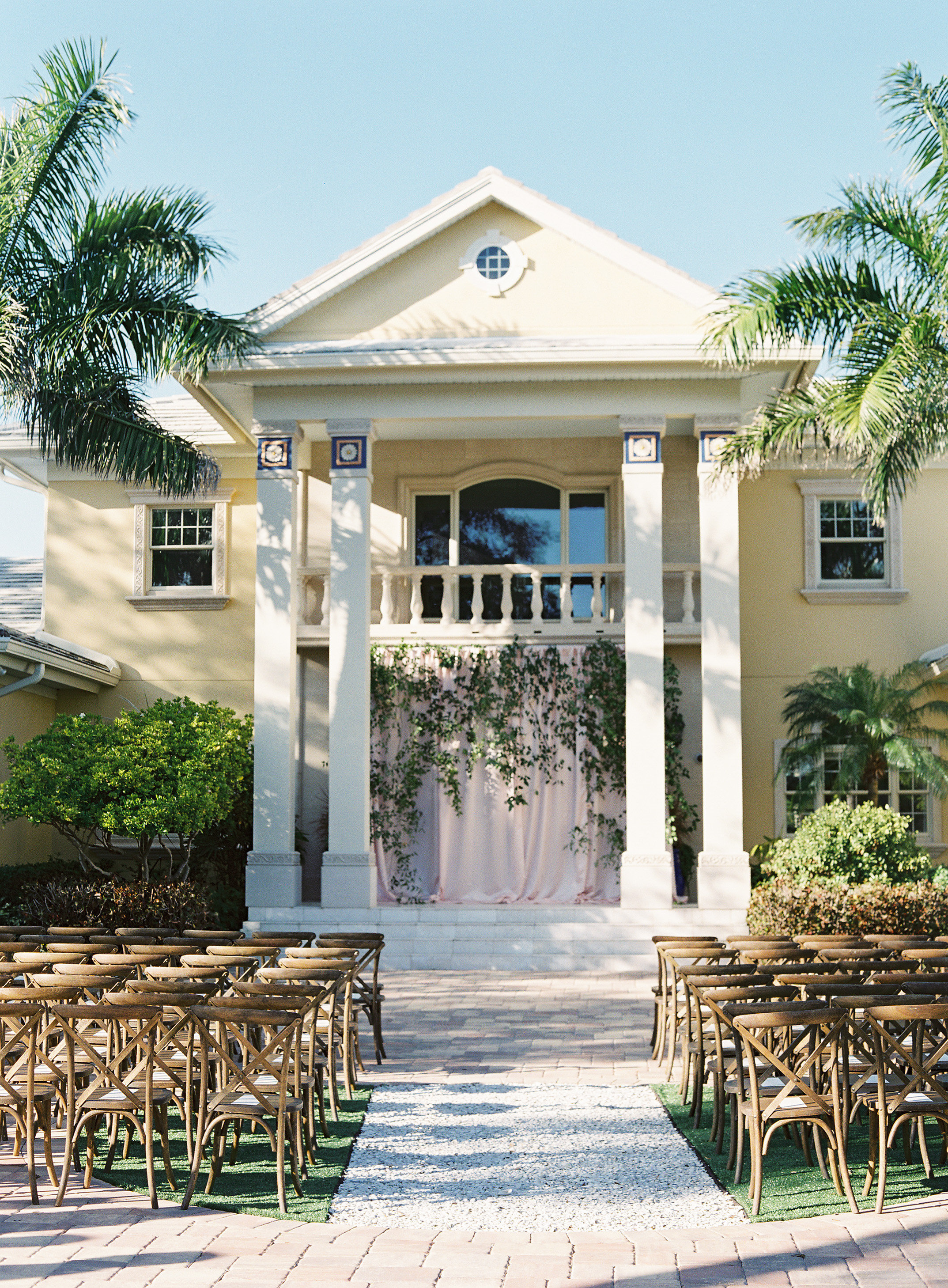 Romantic Tented Waterfront Wedding - Tracie Domino Events