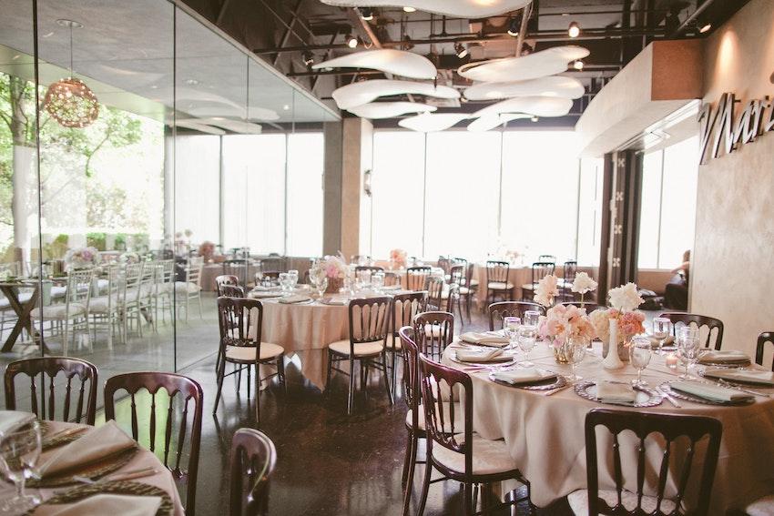 Marie Gabrielle Restaurant Gardens A Serene Setting Partyslate