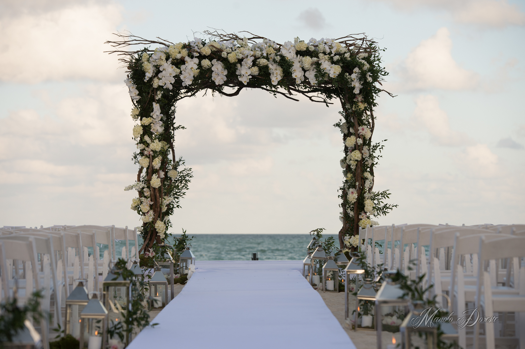 Ocean Glamour: Miami Beach Wedding - Chris Weinberg Events