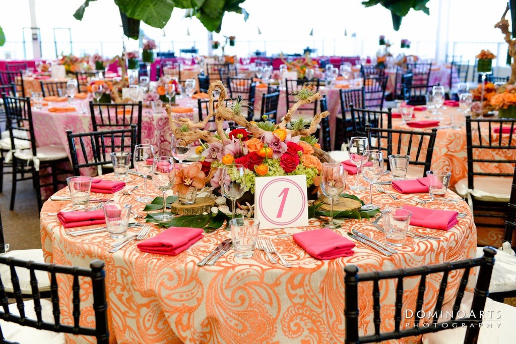 Tropical Florals: Miami Bat Mitzvah - Chris Weinberg Events