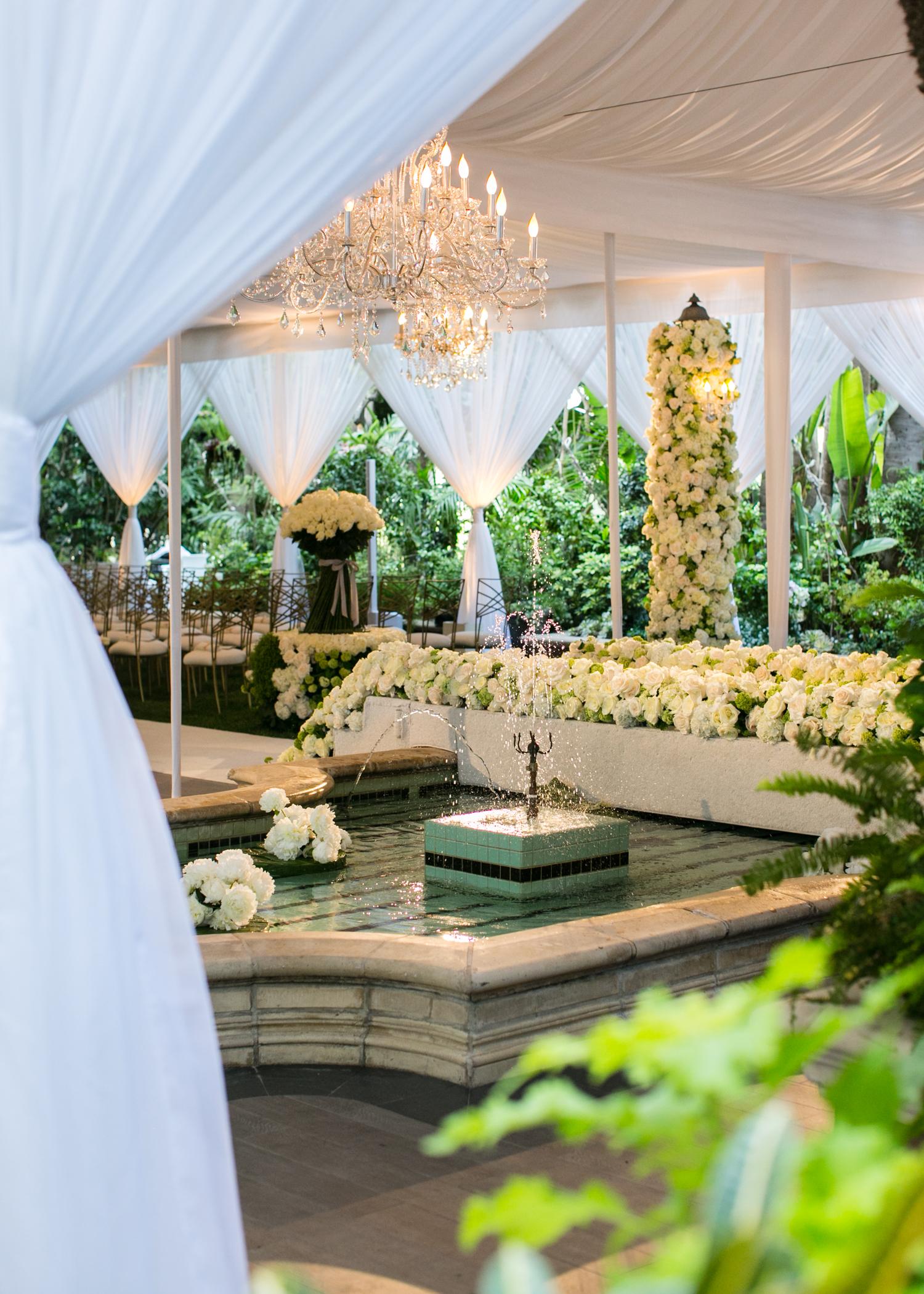 White Los Angeles Wedding - International Event Company