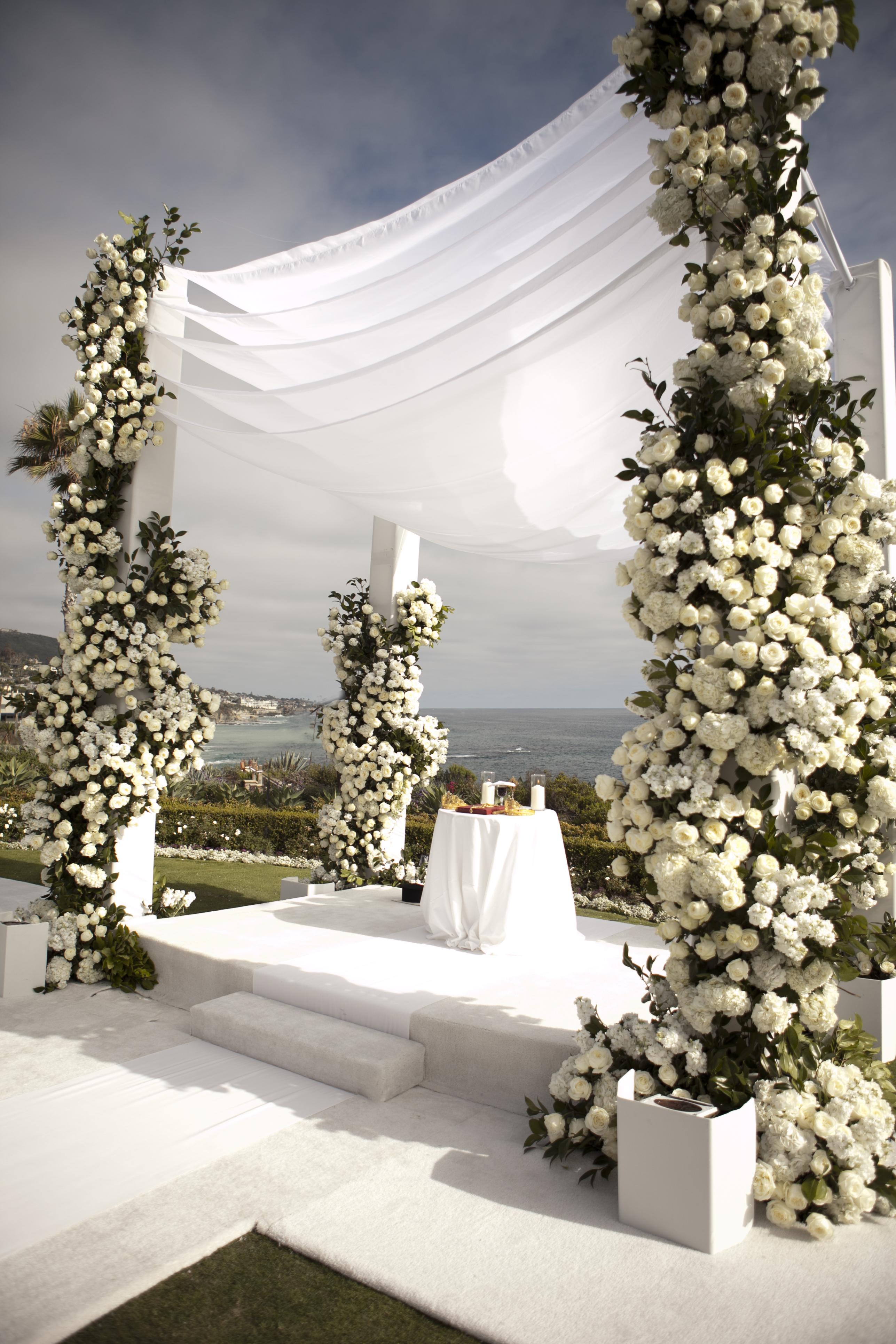 Oceanside Laguna Beach Wedding - International Event Company