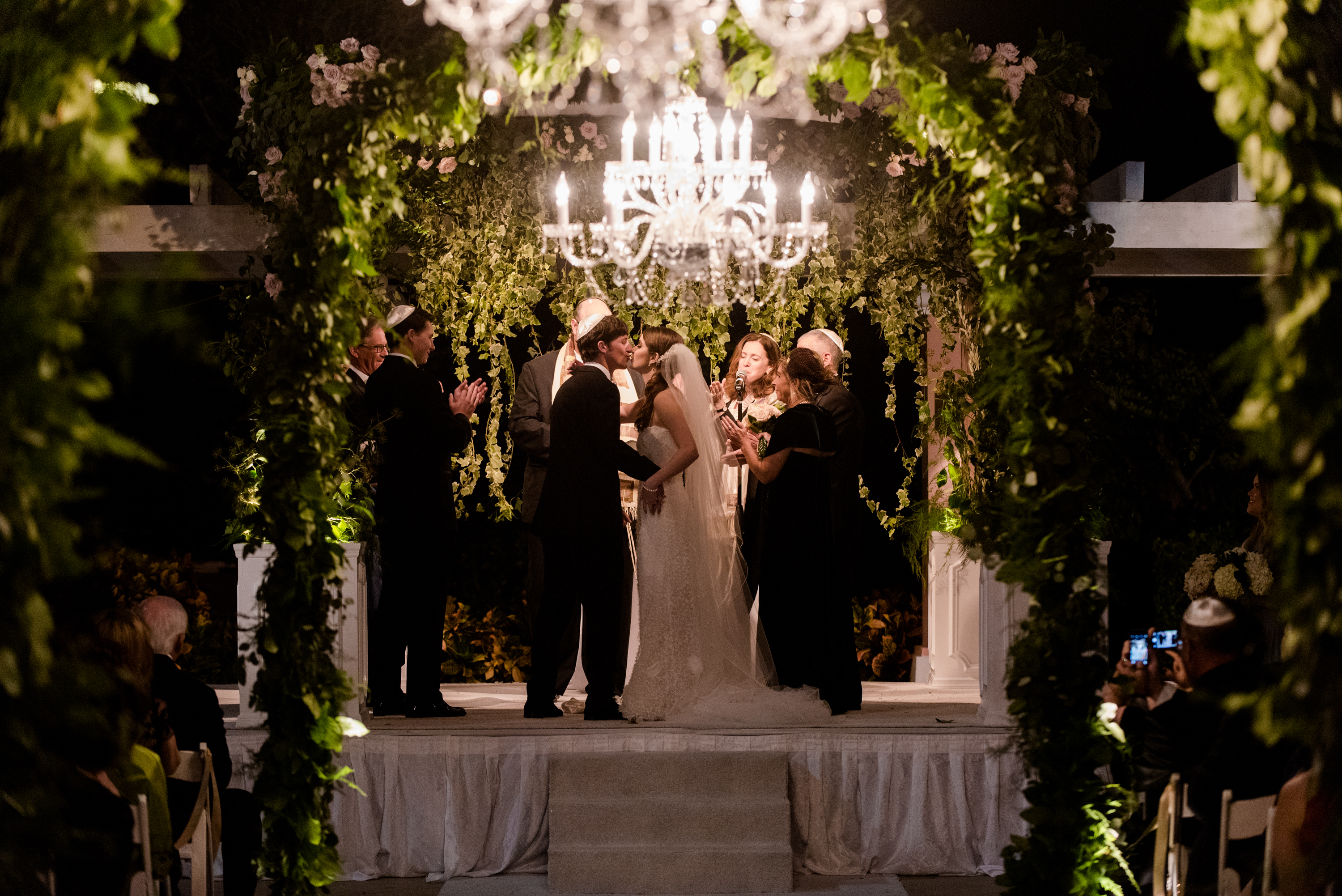 Winter Jewish Wedding at Vinoy Renaissance Resort - Tracie Domino Events
