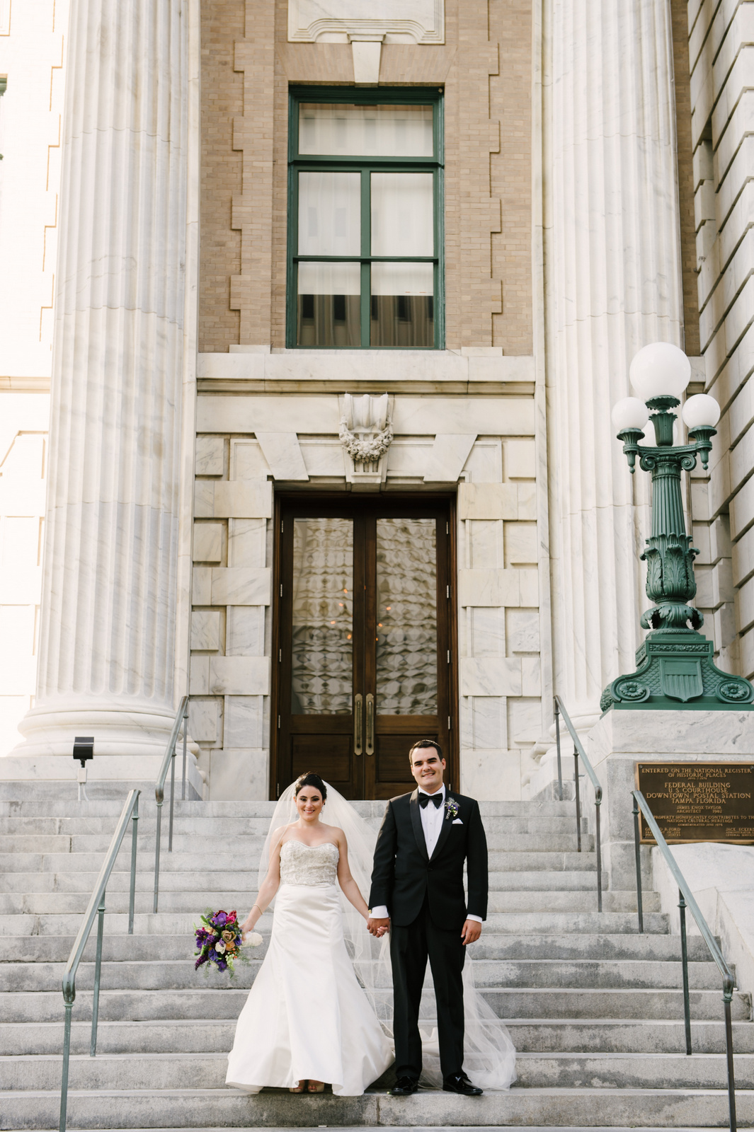 Modern Wedding in Downtown Tampa - Tracie Domino Events