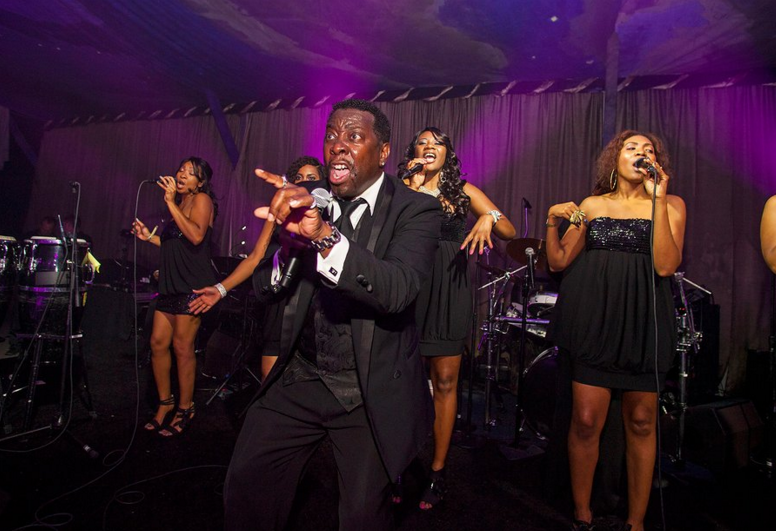 Gentleman of Leisure were honored to perform at George Lucas and Mellody Hobson's Chicago Wedding Reception.